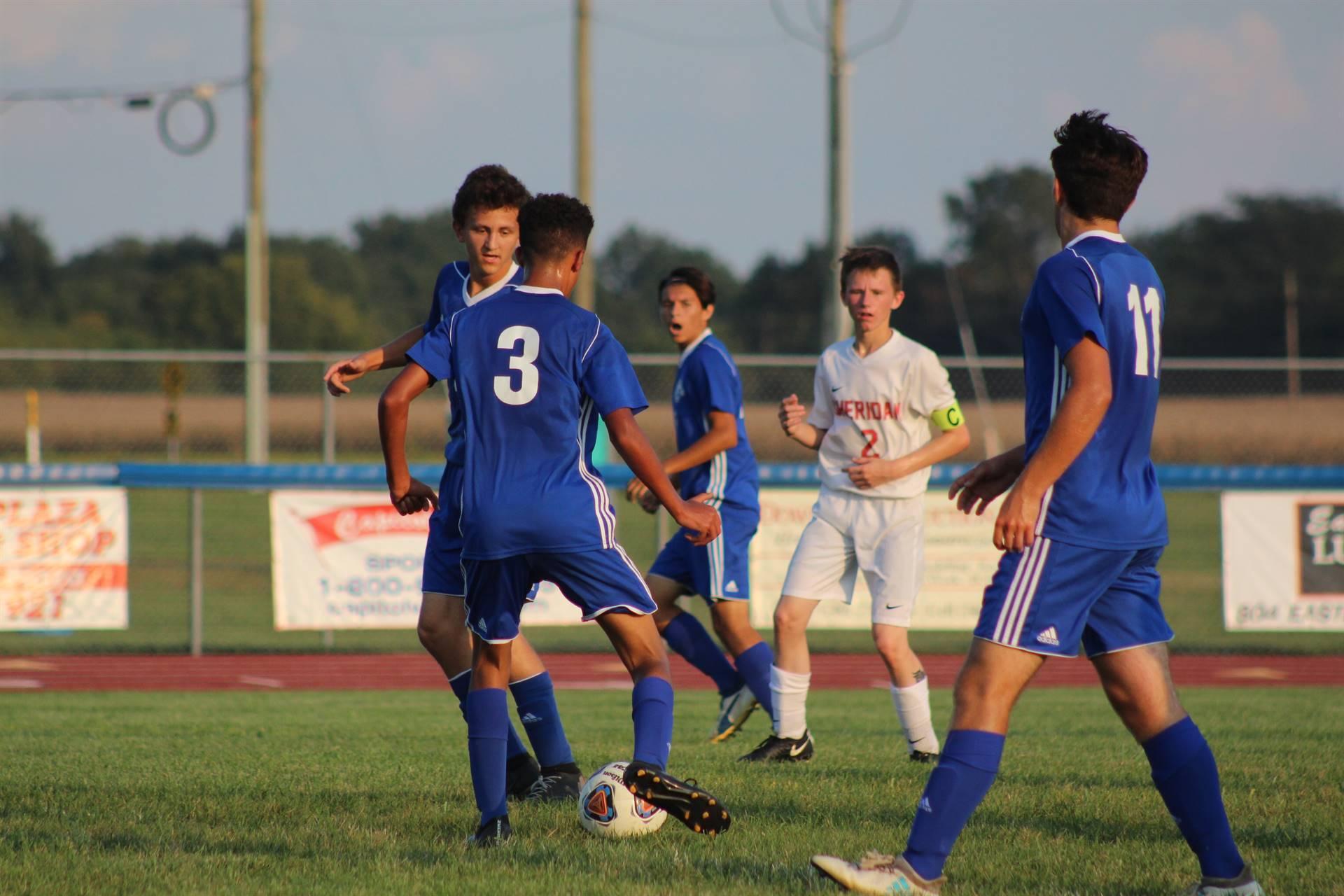 SE Boys Varsity Soccer vs Sheridan