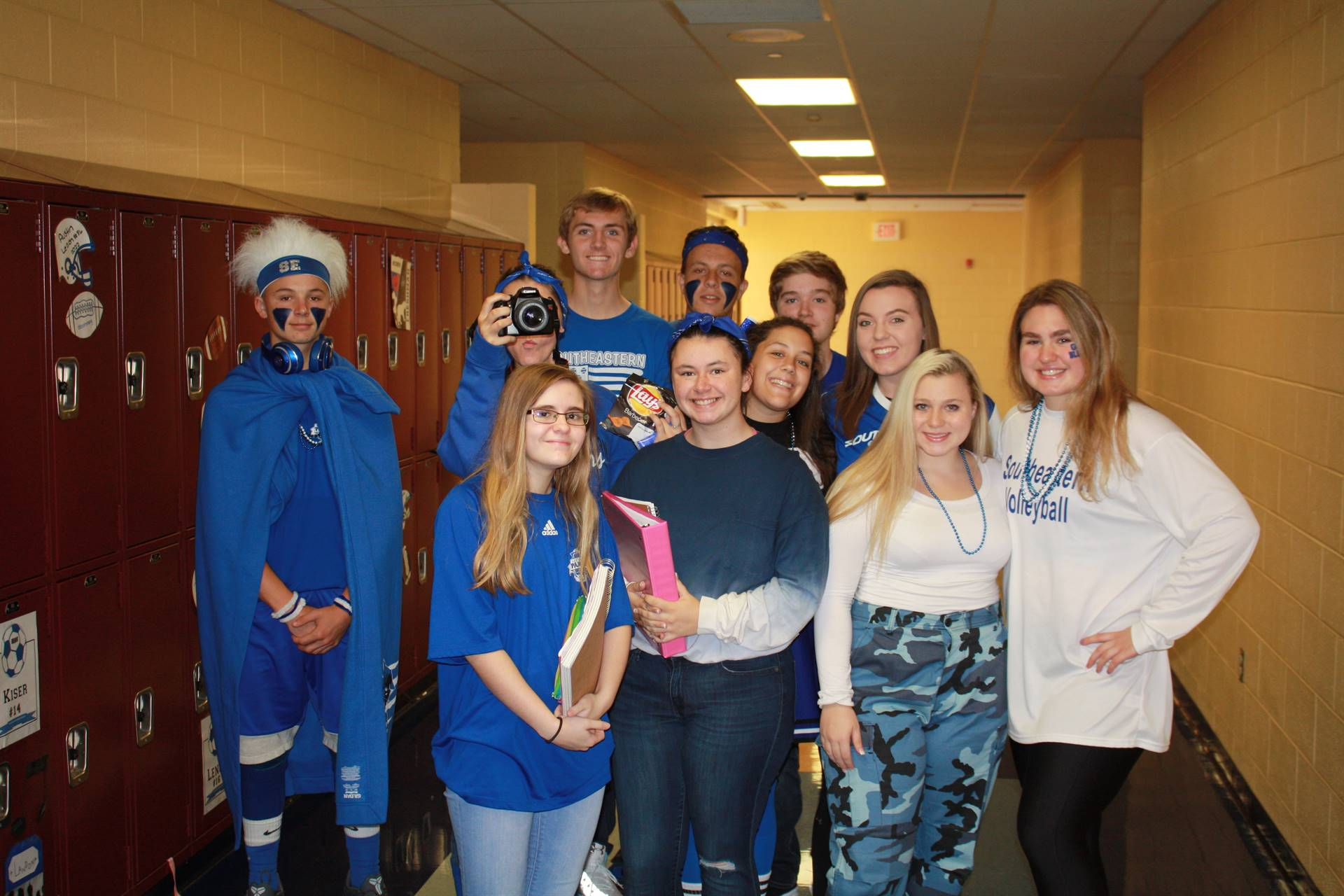 Blue and White Day
