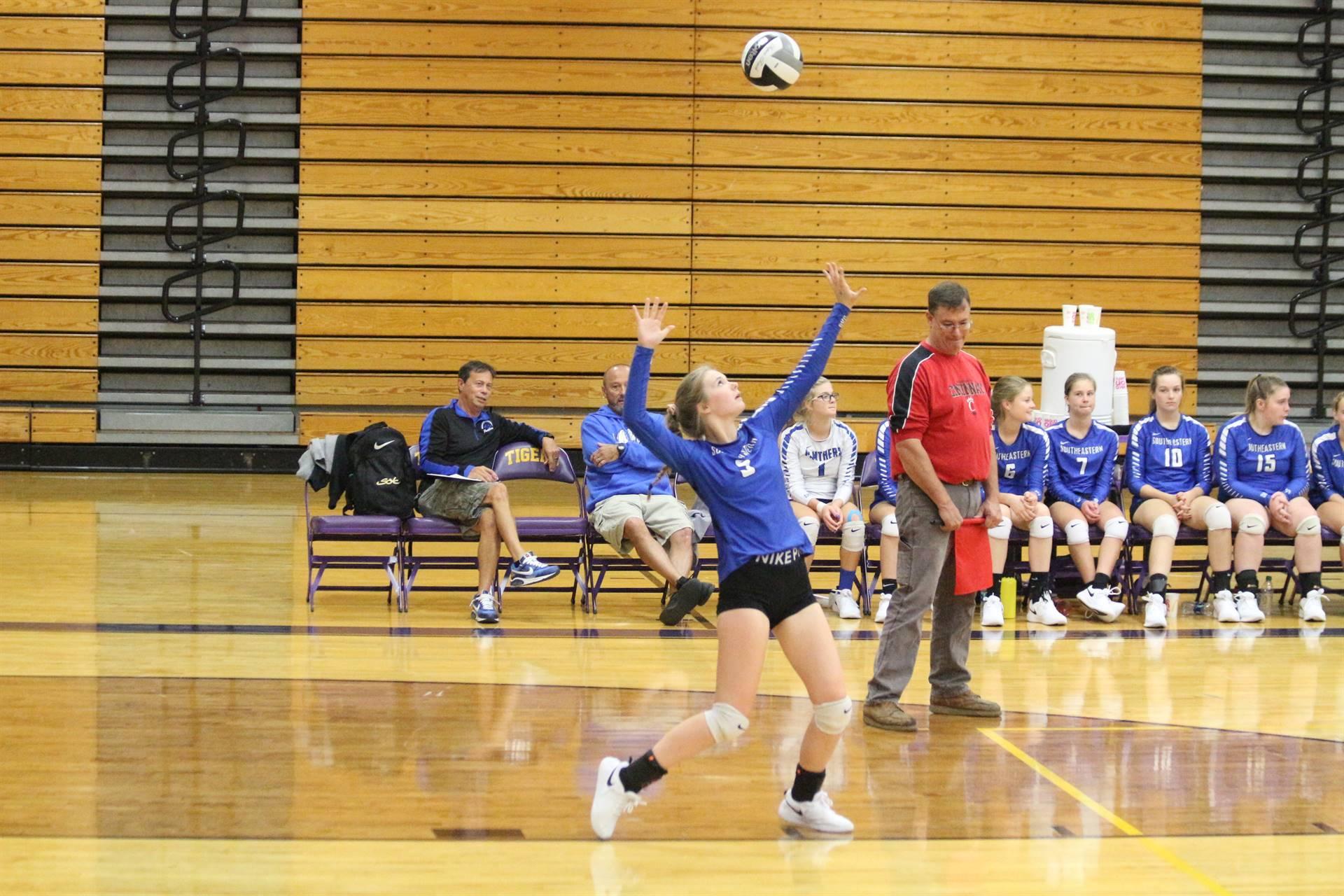 SE Volleyball vs McClain