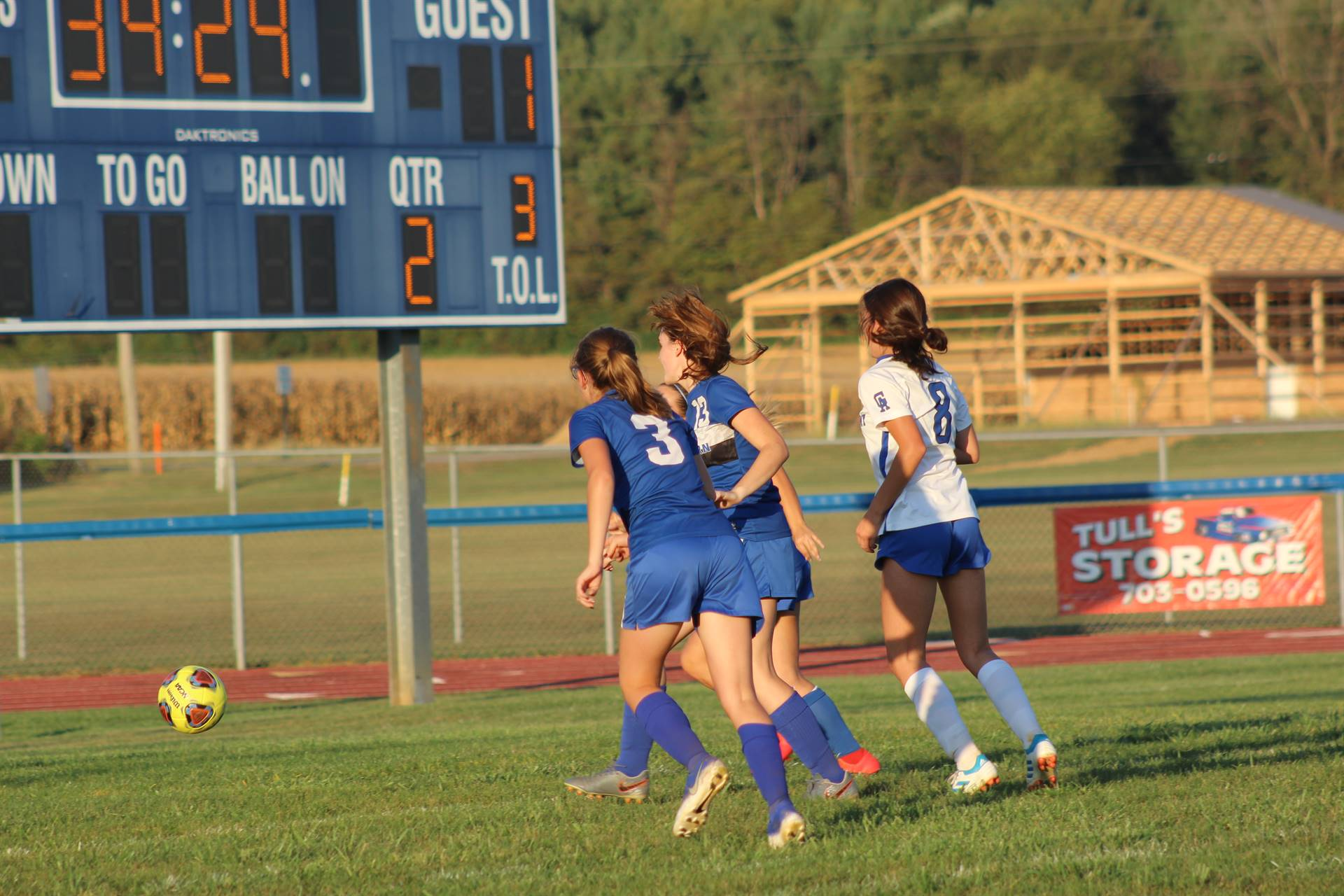 Se Girls Soccer vs Gallia