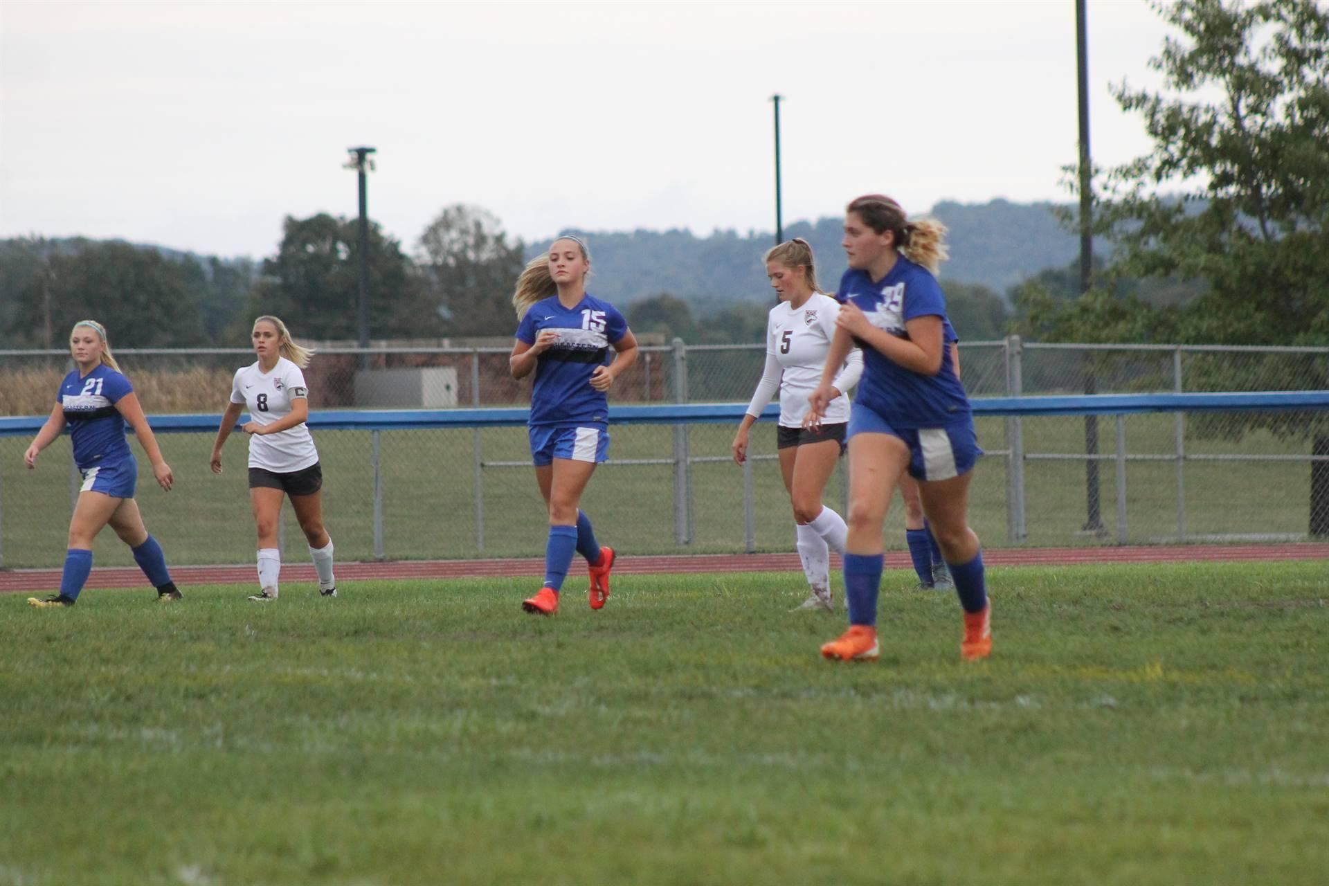 SE Girls Soccer vs Westfall