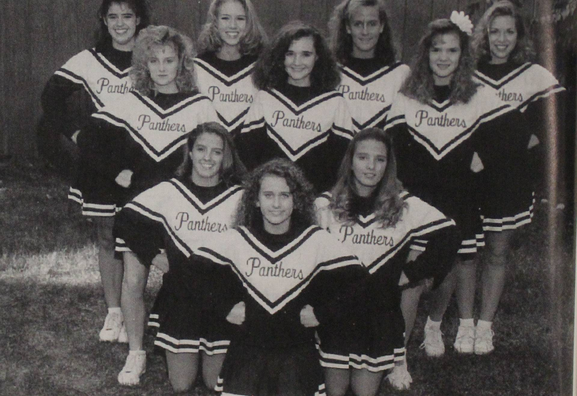 1994 Football Cheerleaders