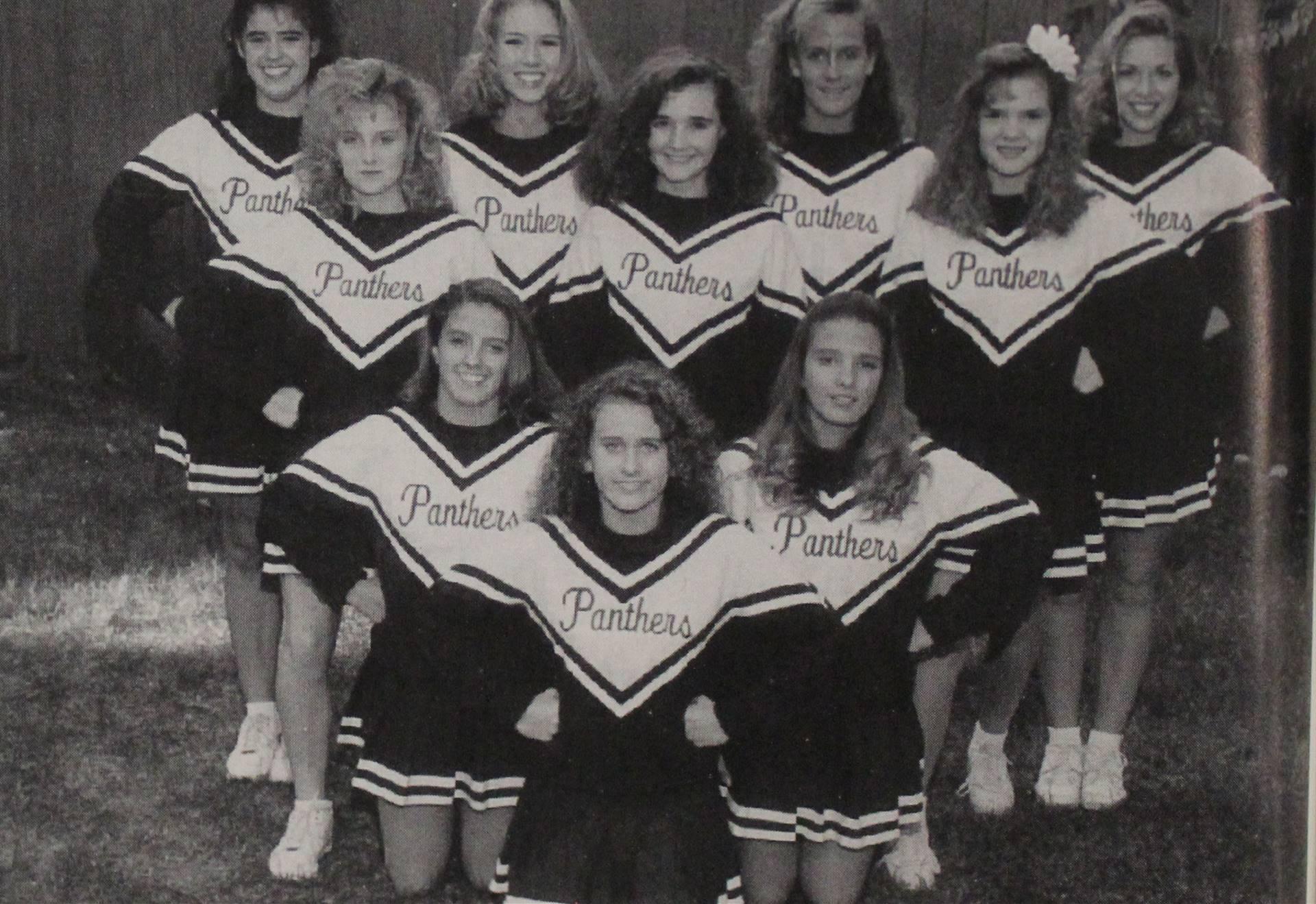 1994 Football Cheerleaders