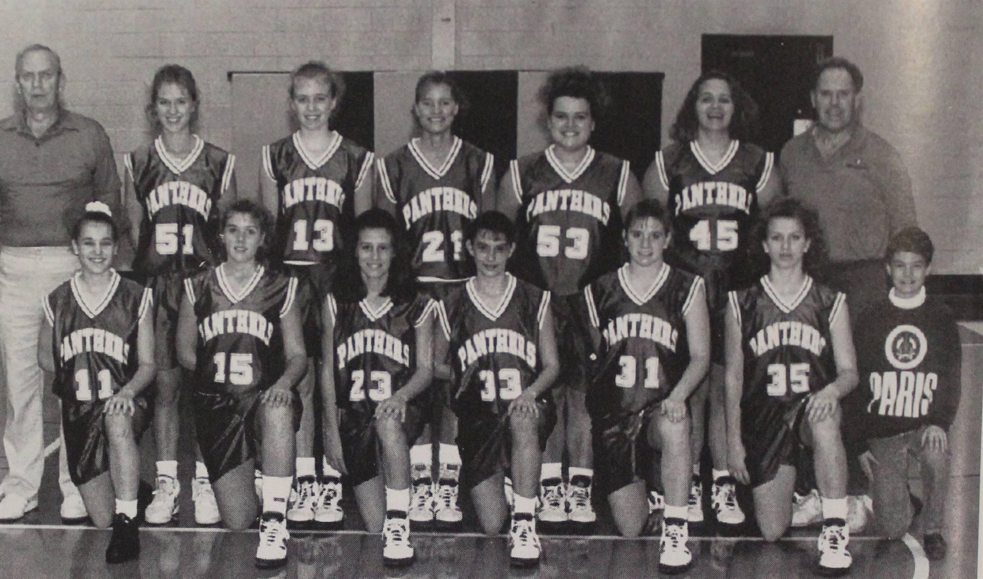 1994 Girls Basketball