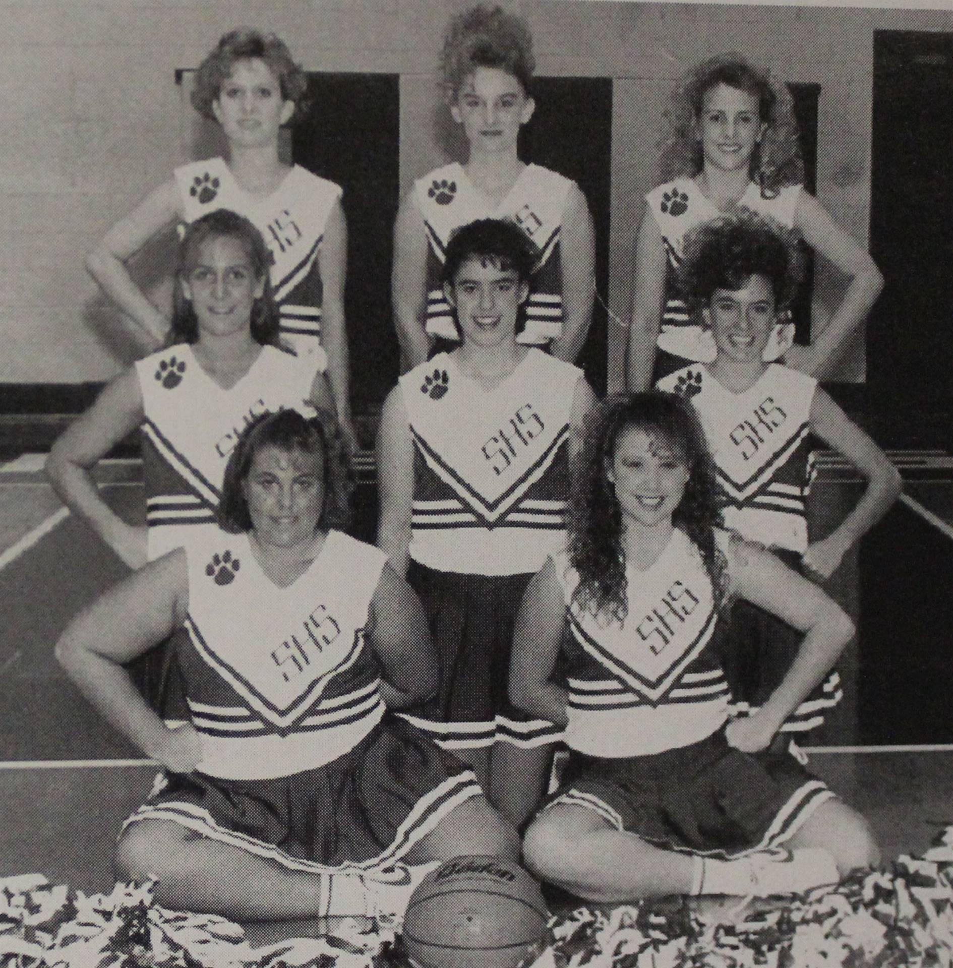 1994 Varsity Basketball Cheerleaders