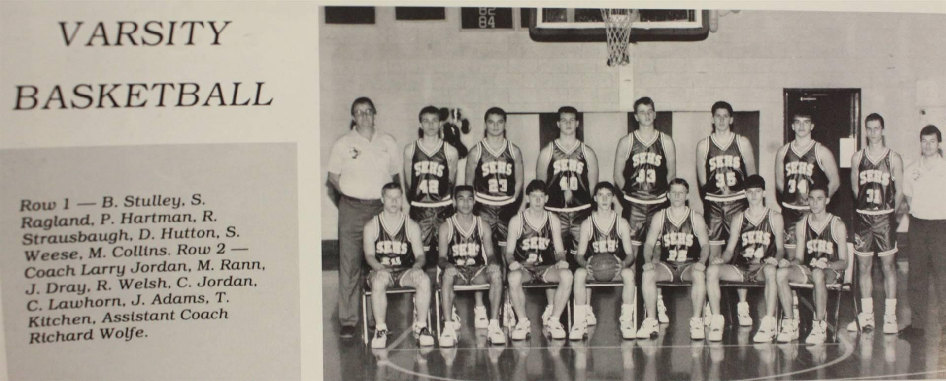 1991 Varsity Basketball
