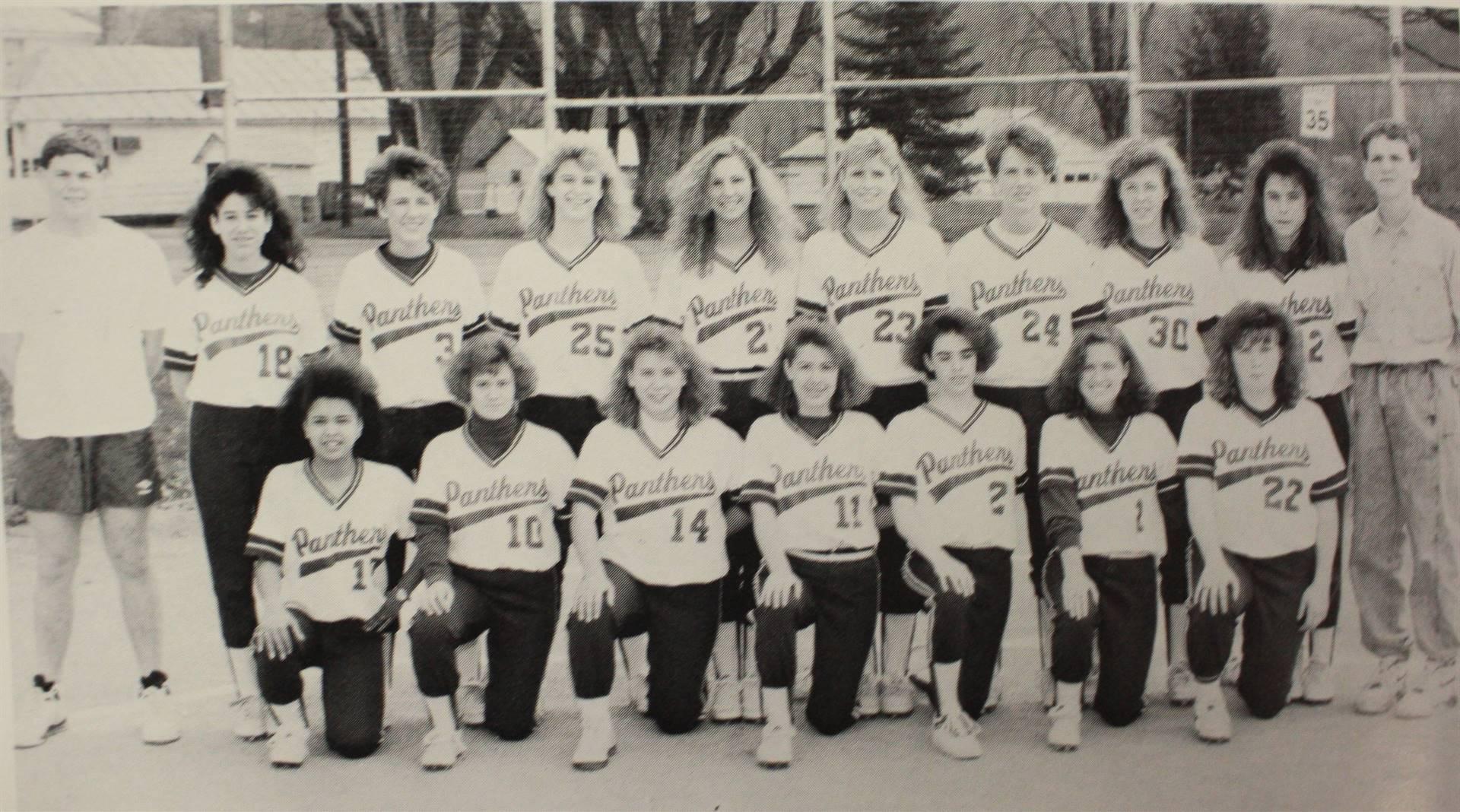 1991 Girls Softball