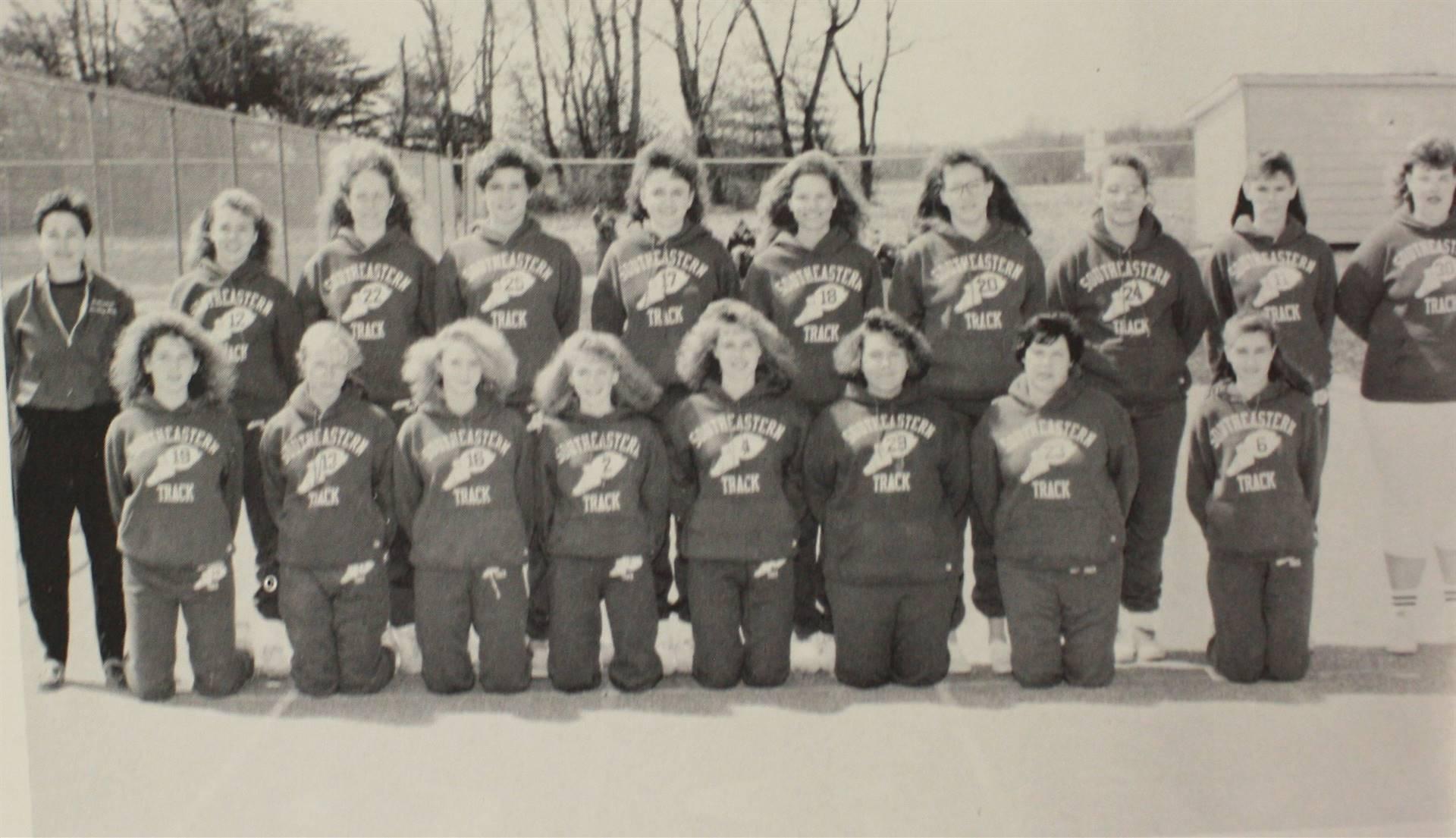 1991 Girls Varsity Track