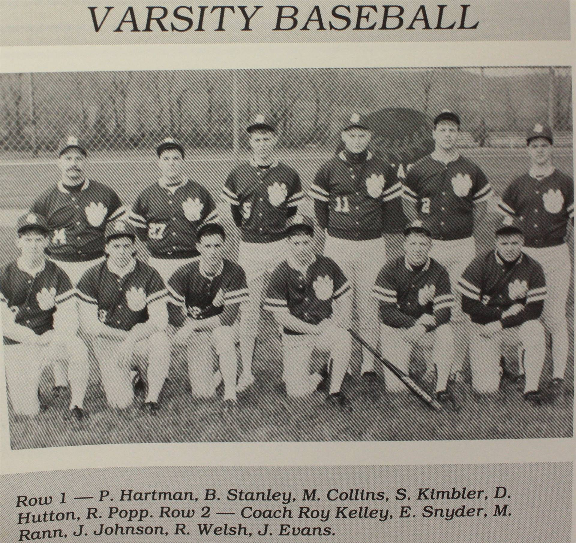 1991 Varsity Baseball