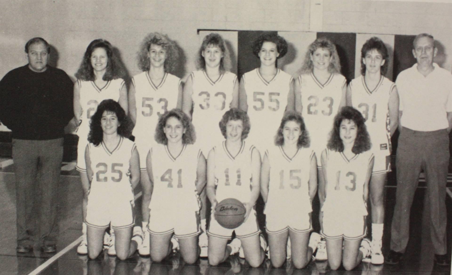 1991 Varsity Girls Basketball