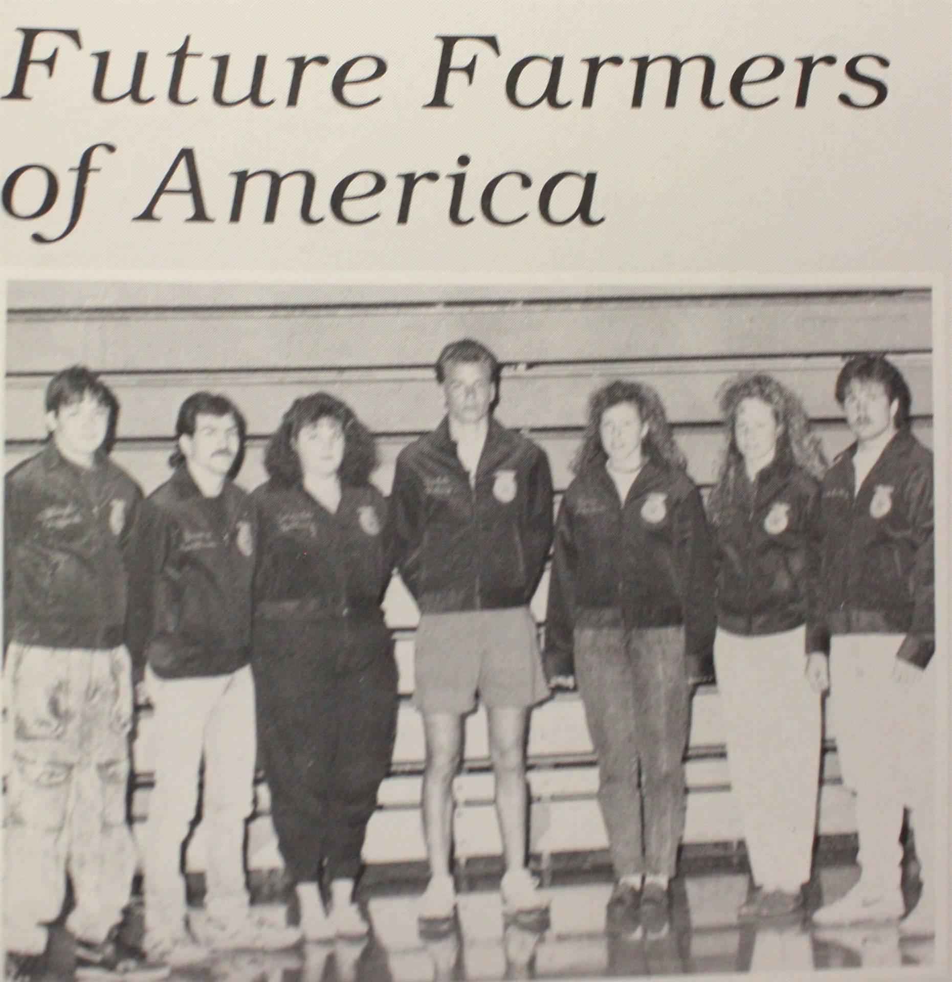 1991 Future Farmers of America