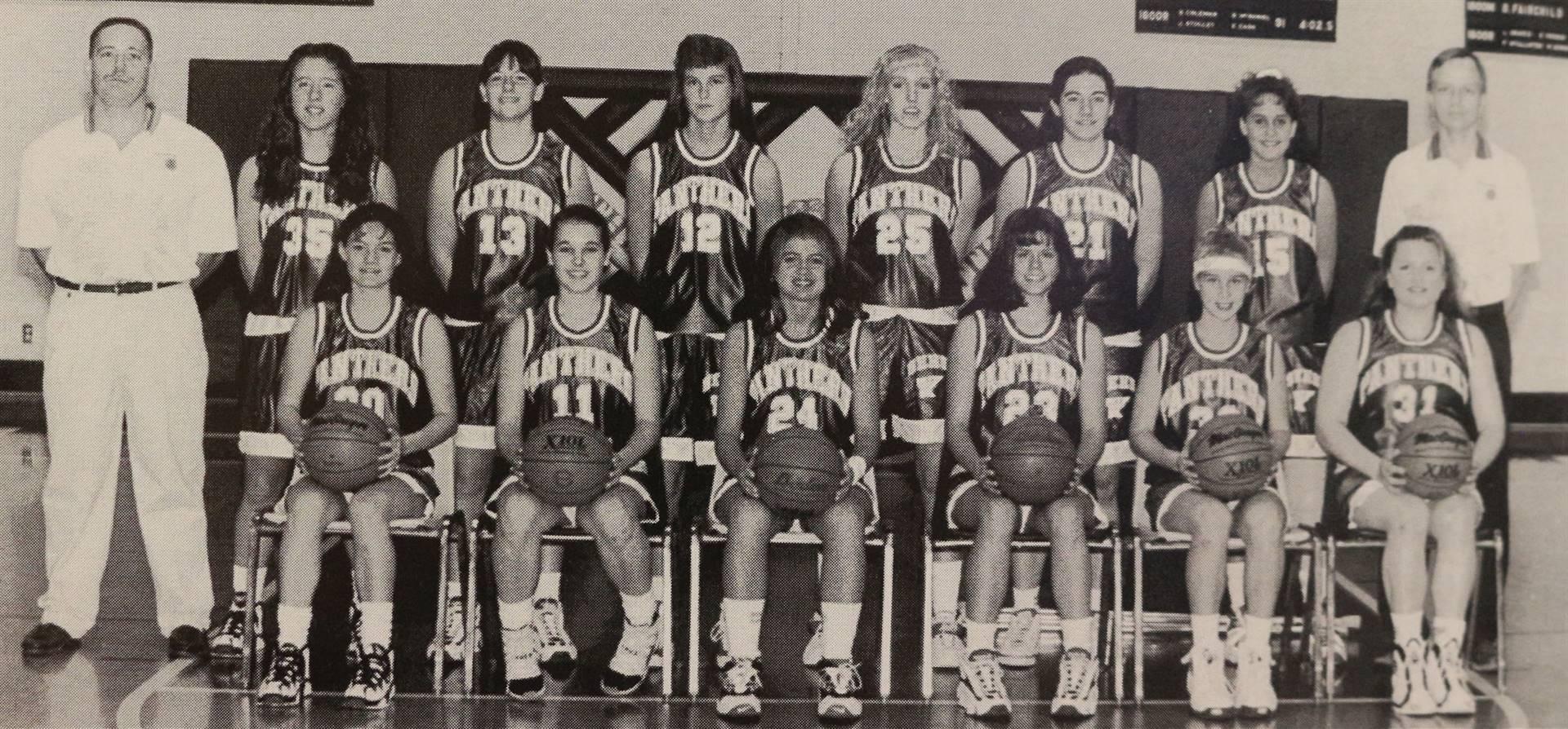 1997 Girls Varsity Basketball