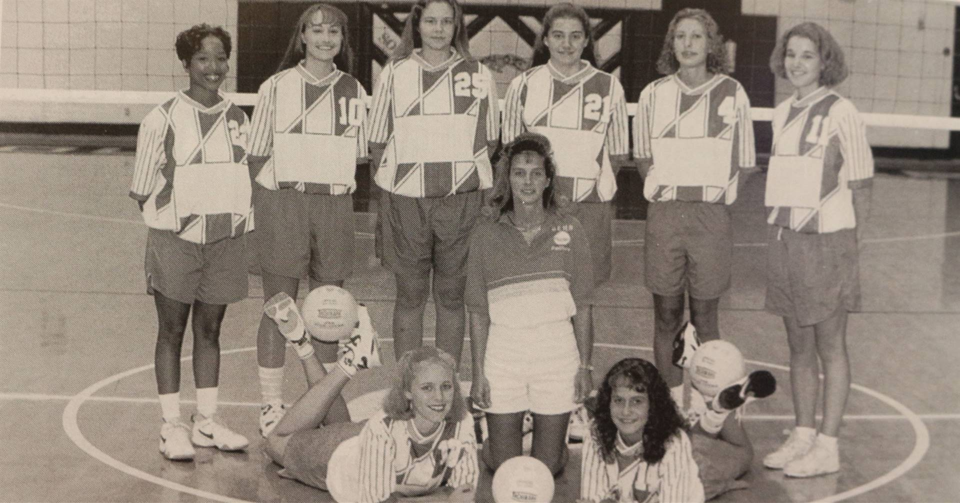 1997 Vollyball Team