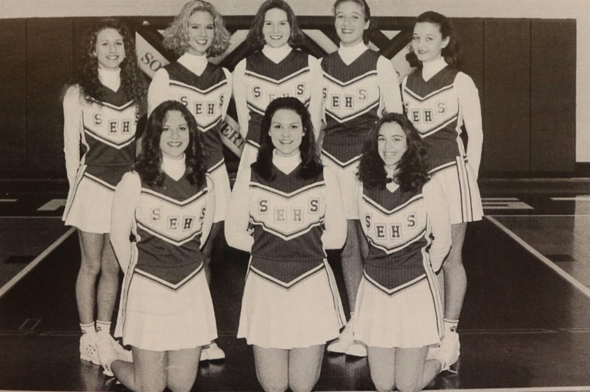 1997 Varsity Basketball Cheerleaders