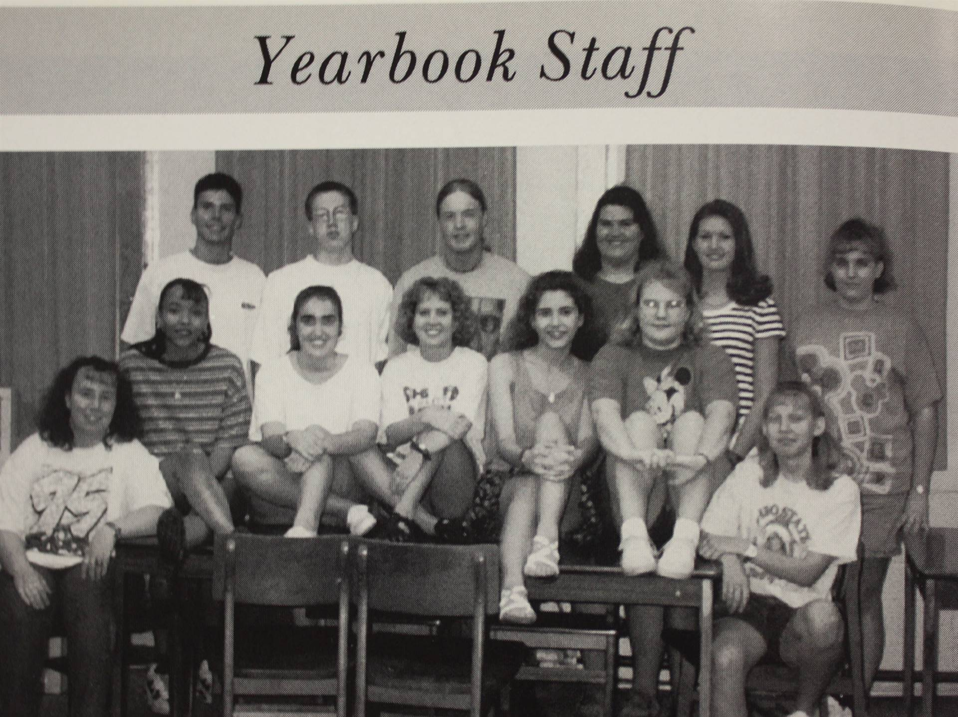 1995 Yearbook Staff