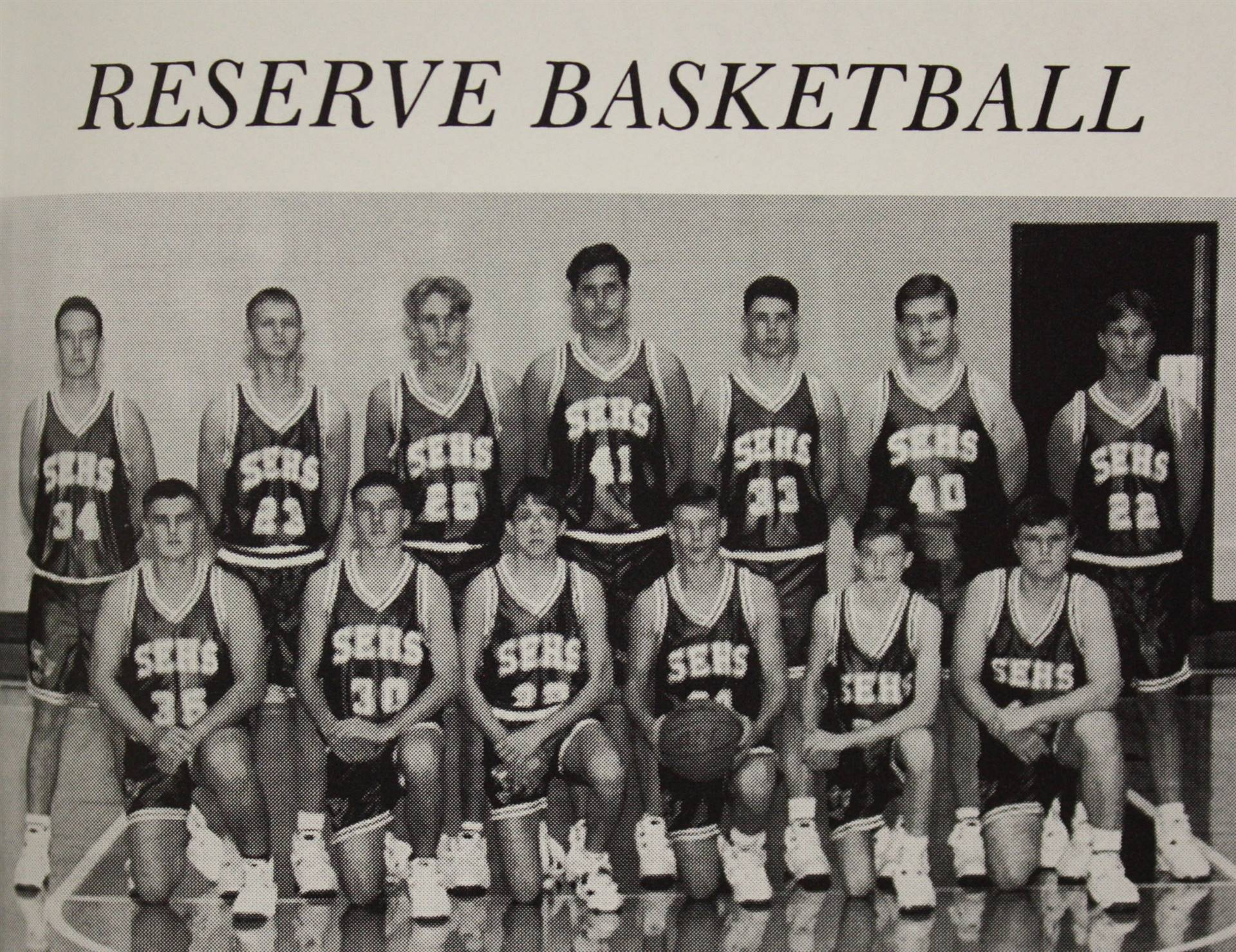 1995 Reserve Basketball