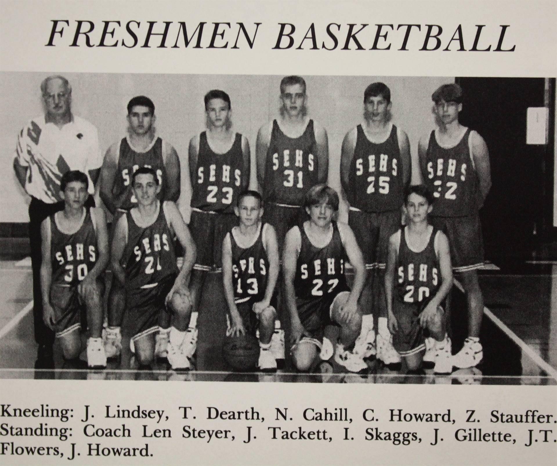 1995 Freshman Basketball