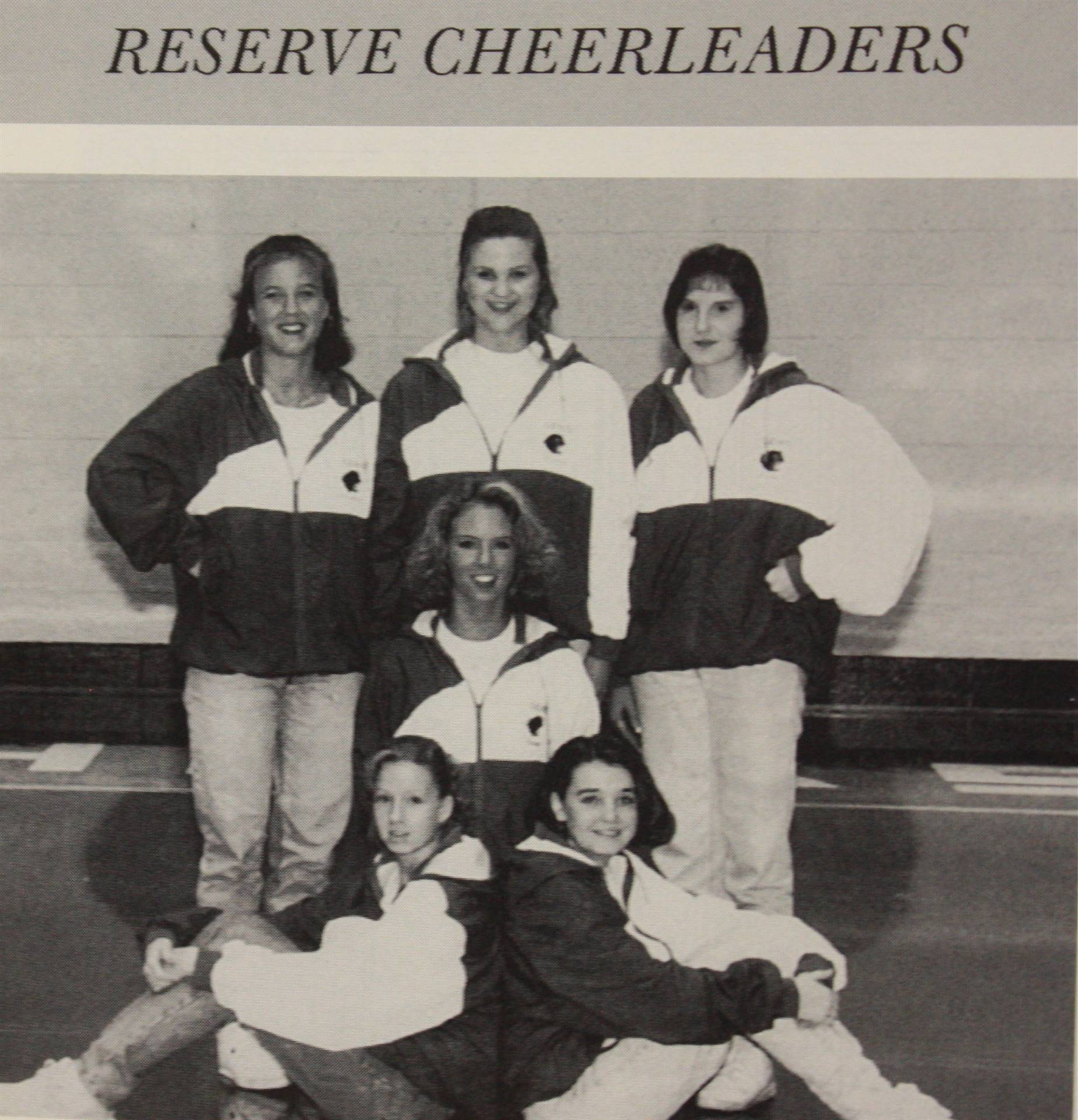 1995 Reserve Cheerleaders