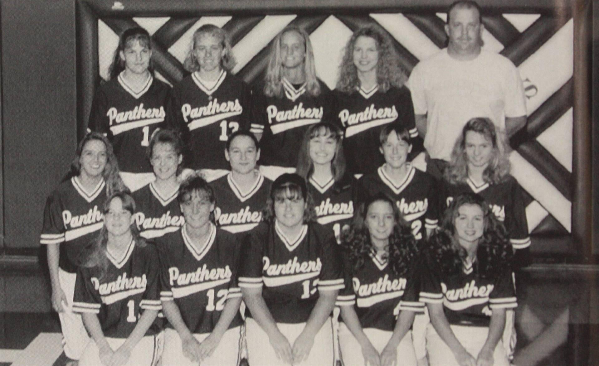 1995 Varsity Softball