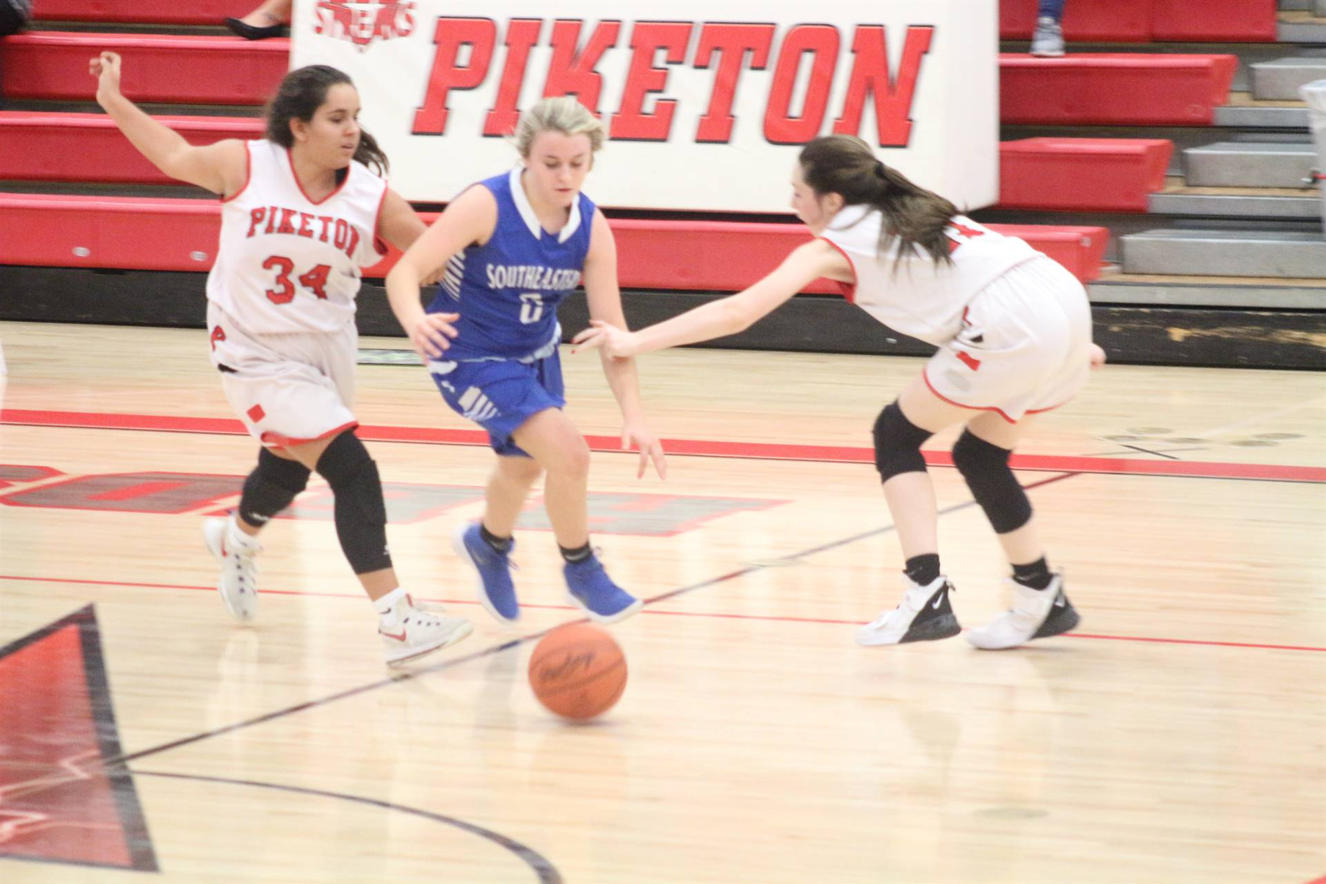 SE Girls Basketball vs Piketon