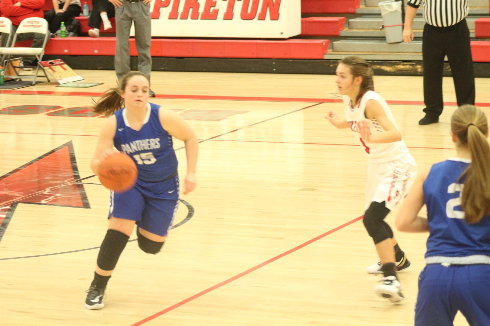 SE Girls Basketball vs Piketon