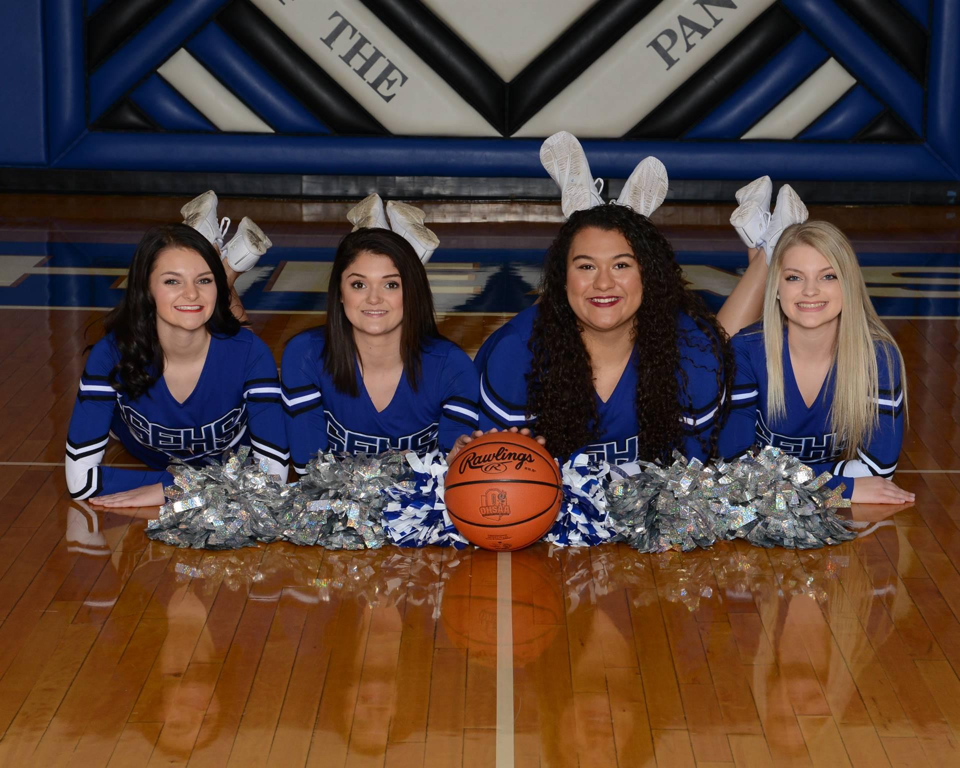 Returning Cheerleaders