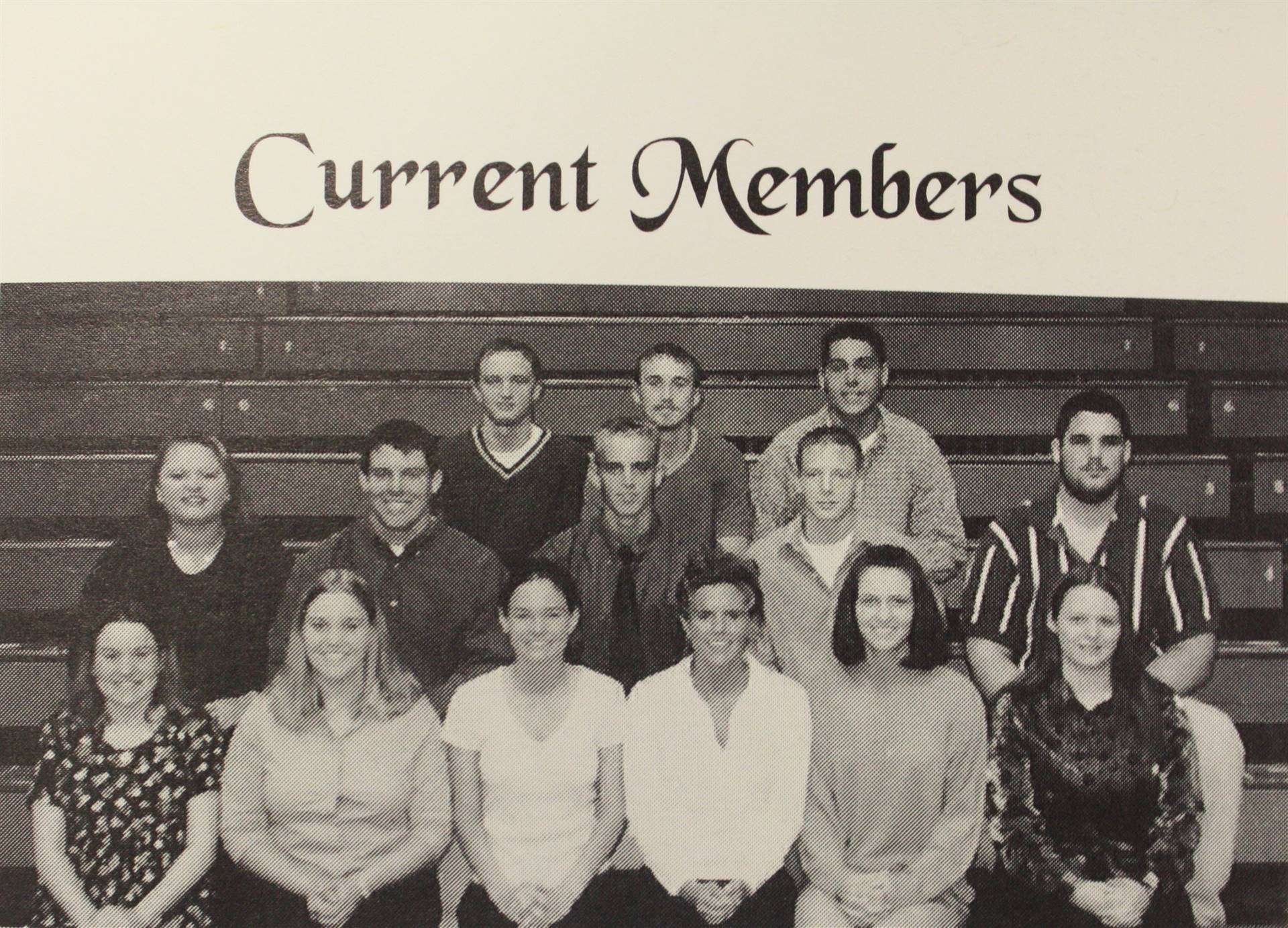 National Honor Society Current Members