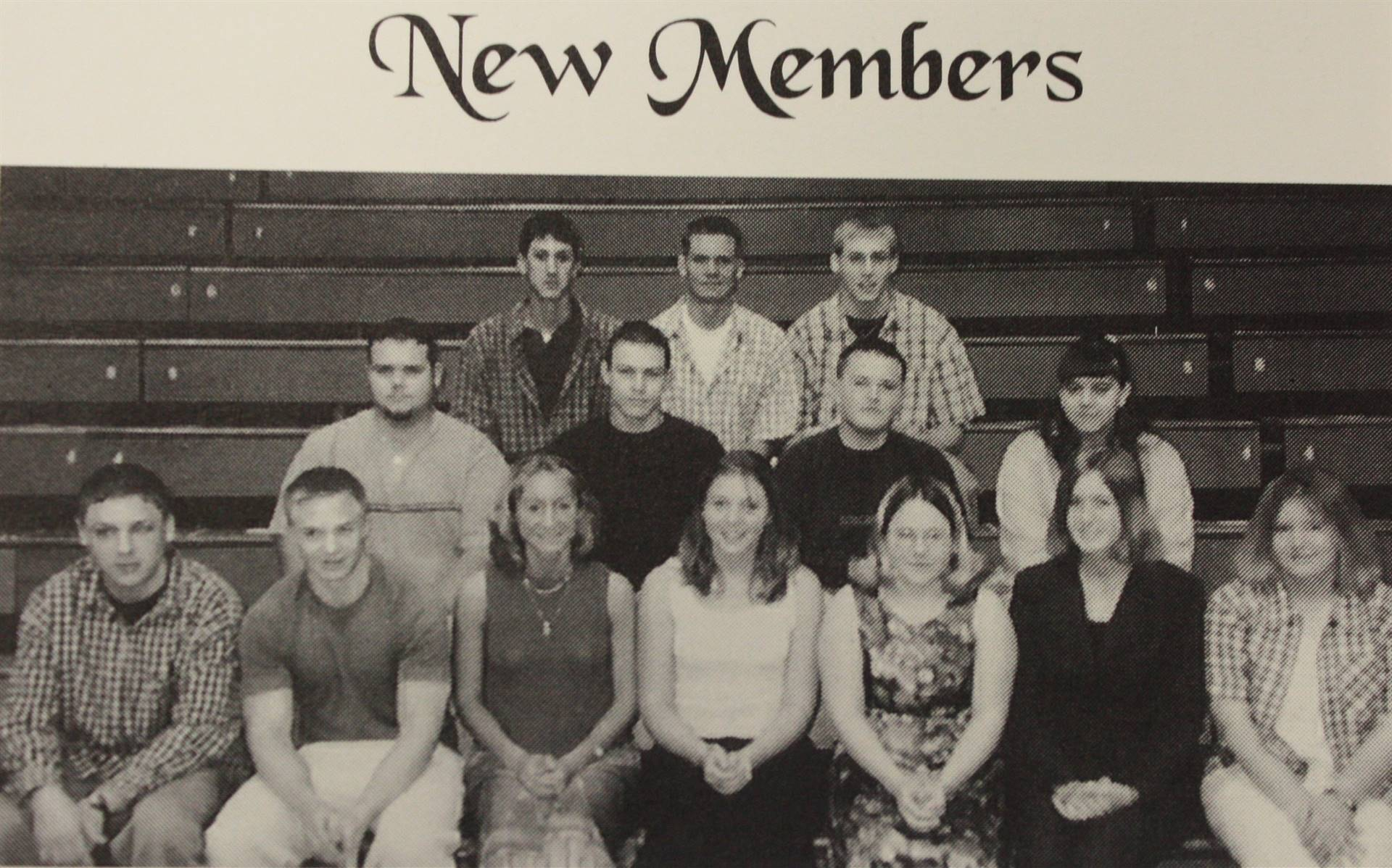 National Honor Society New Members