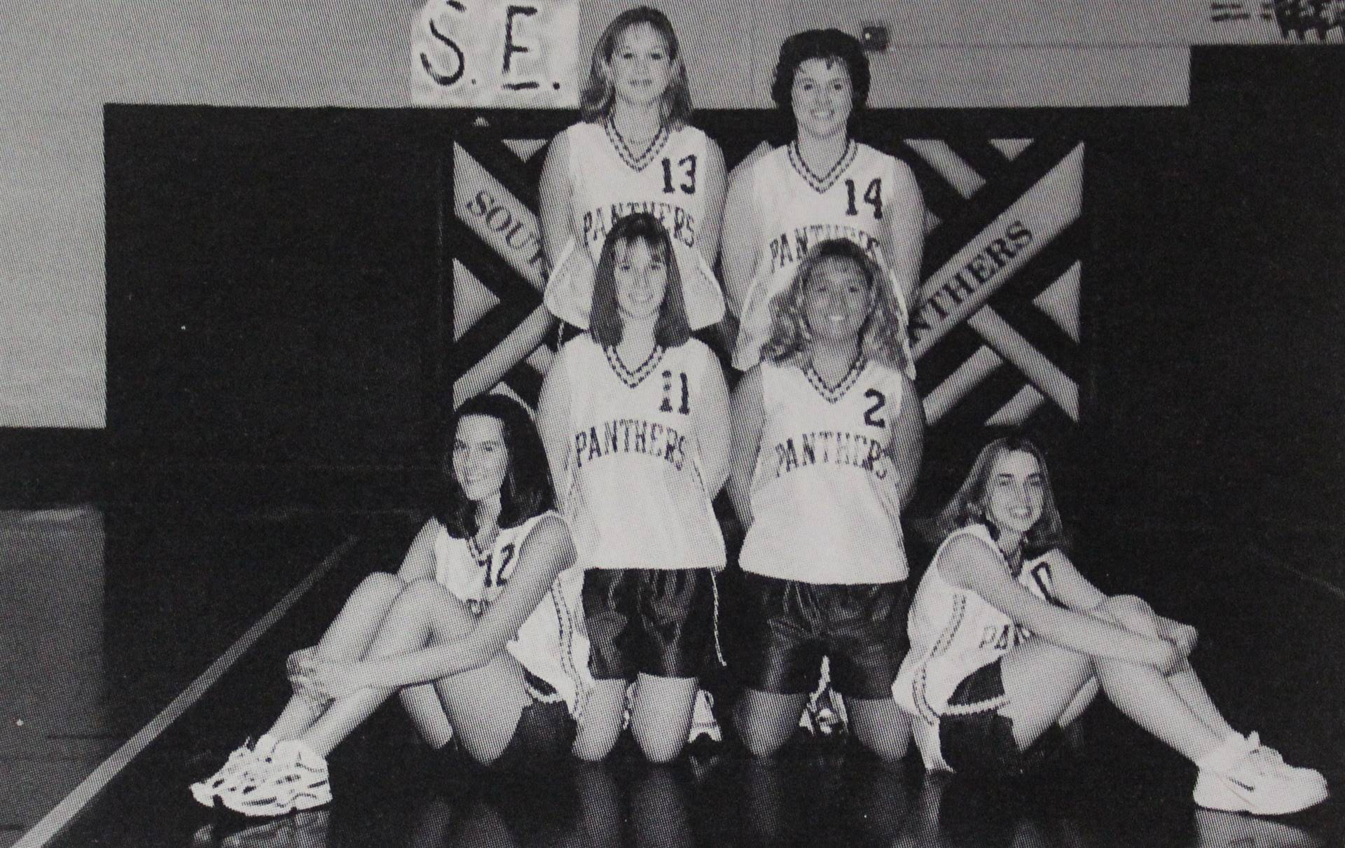 2001 Girls Basketball Reserves