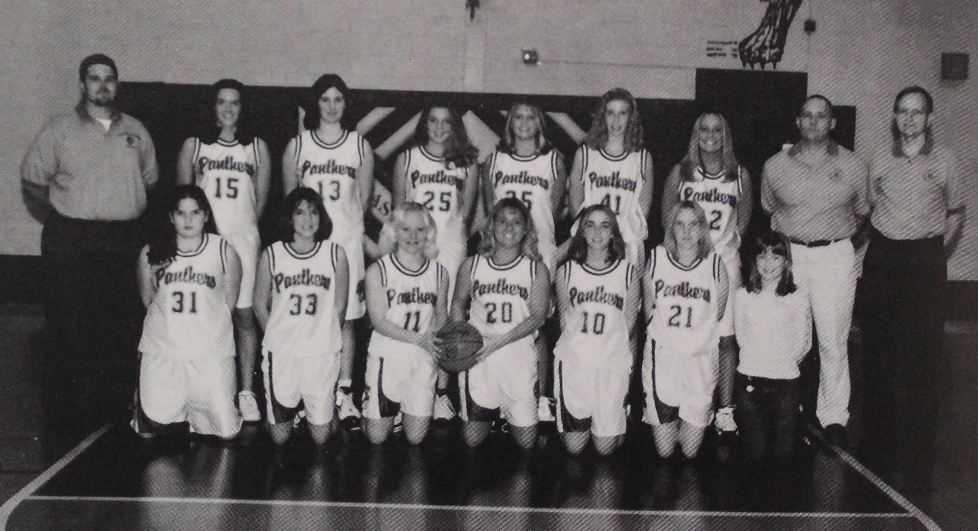 2001 Girls Basketball
