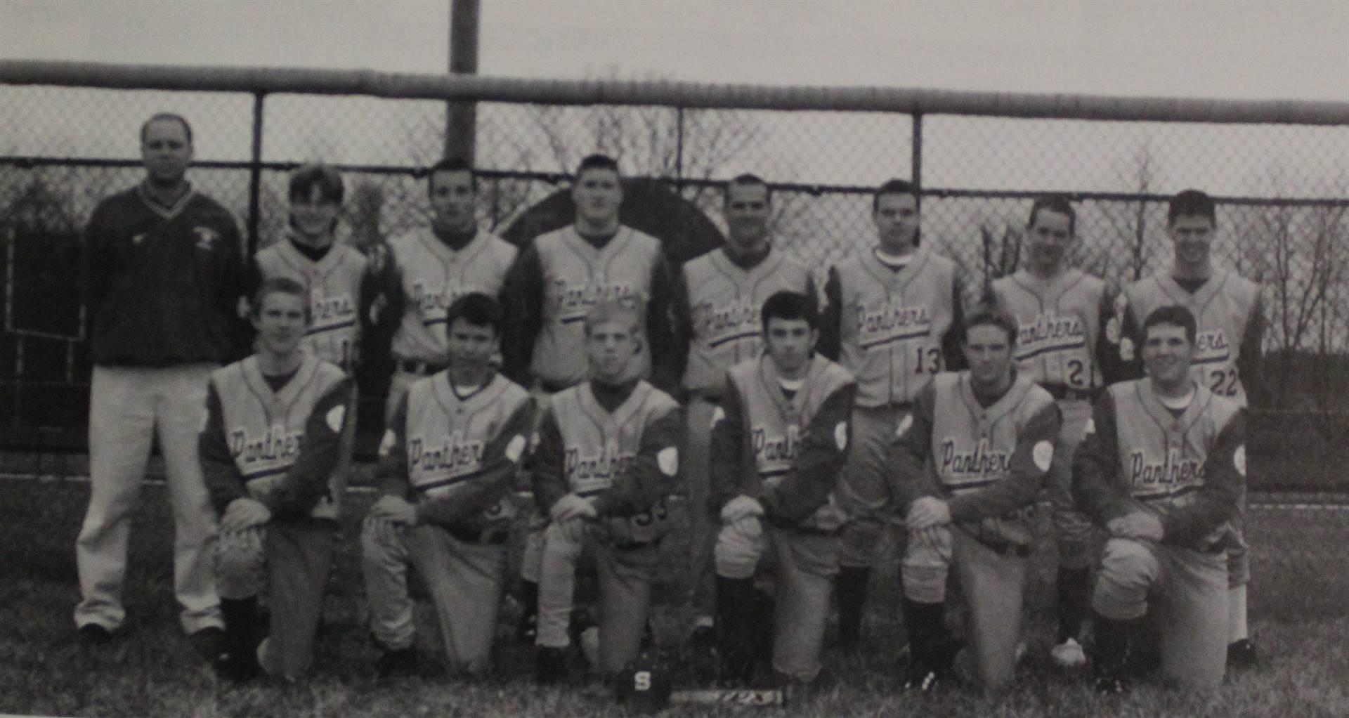 2001 Boys Baseball Reserves