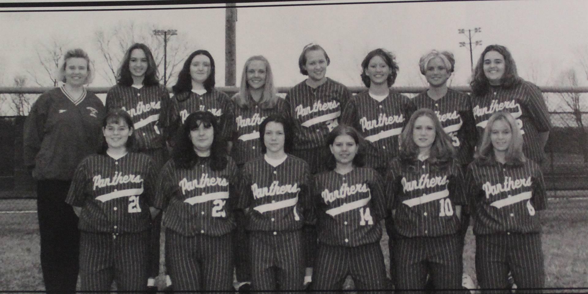 2001 Girls Softball Reserves