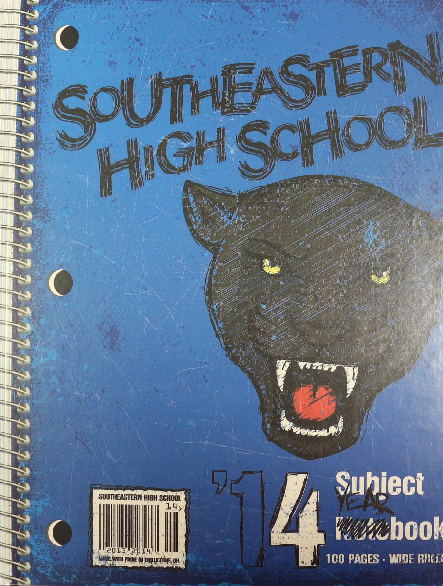 2014 Yearbook Title