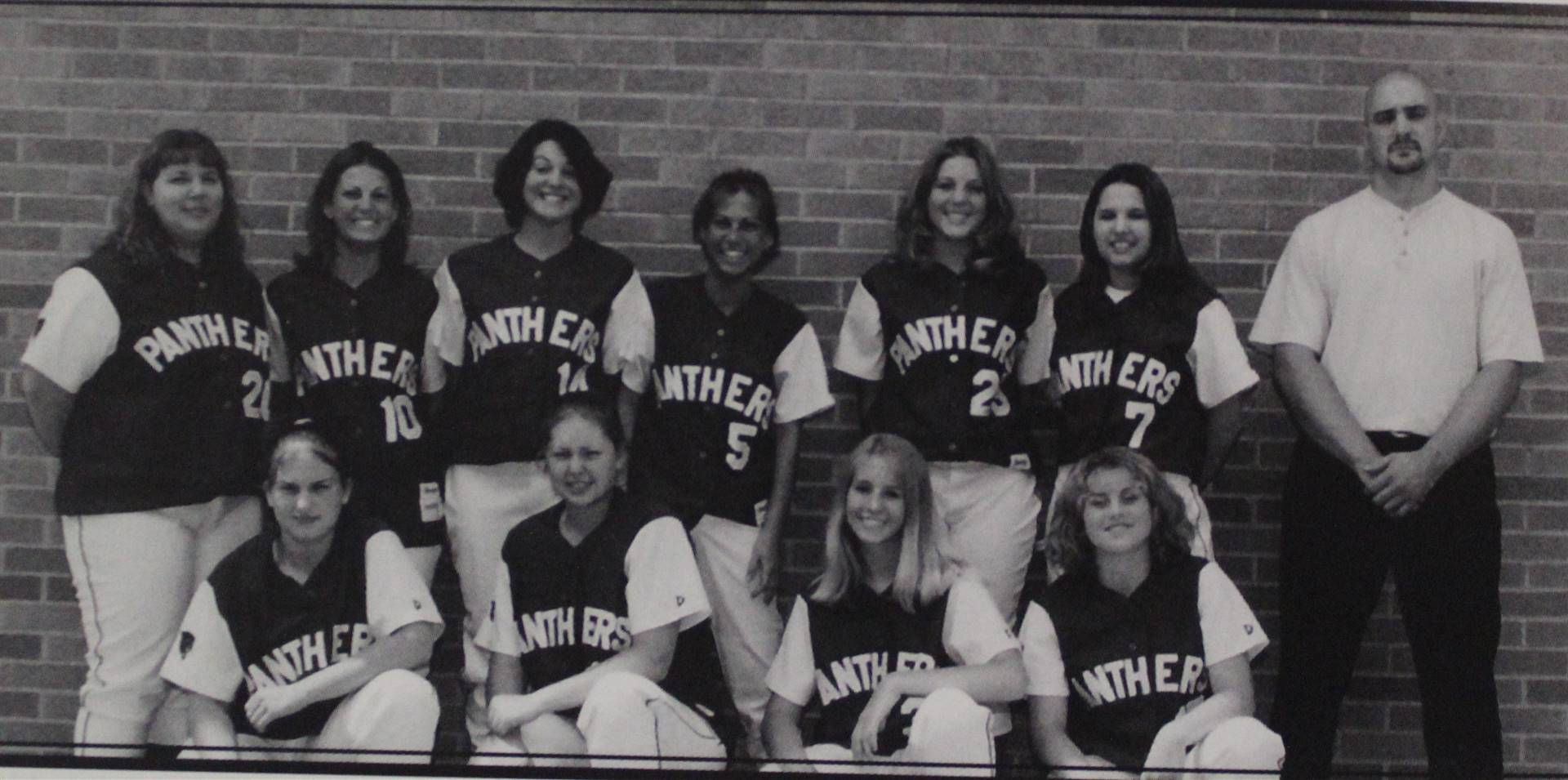 2001 Girls Varsity Softball