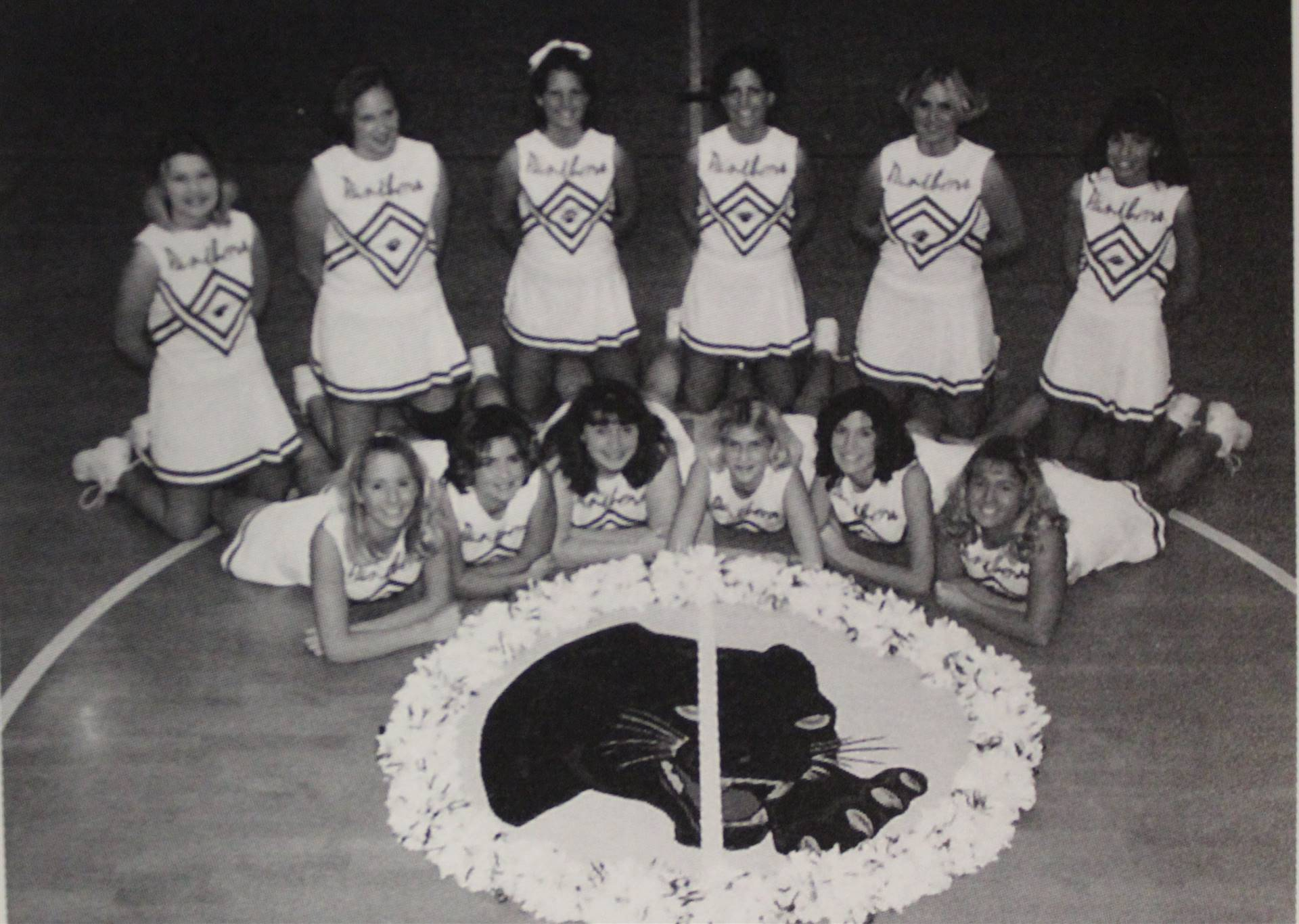 2001 Varsity Basketball Cheerleaders