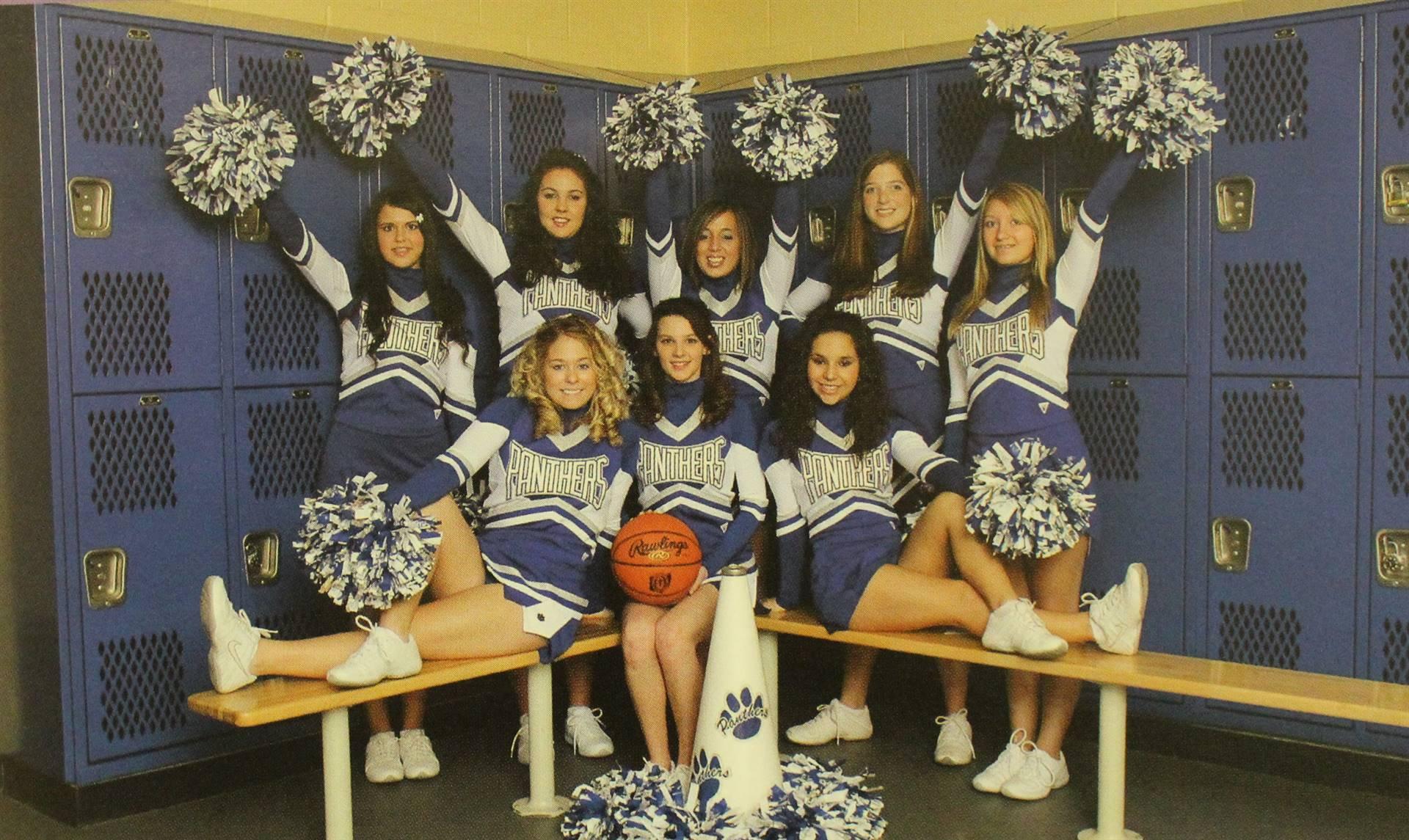 2008 cheerleaders