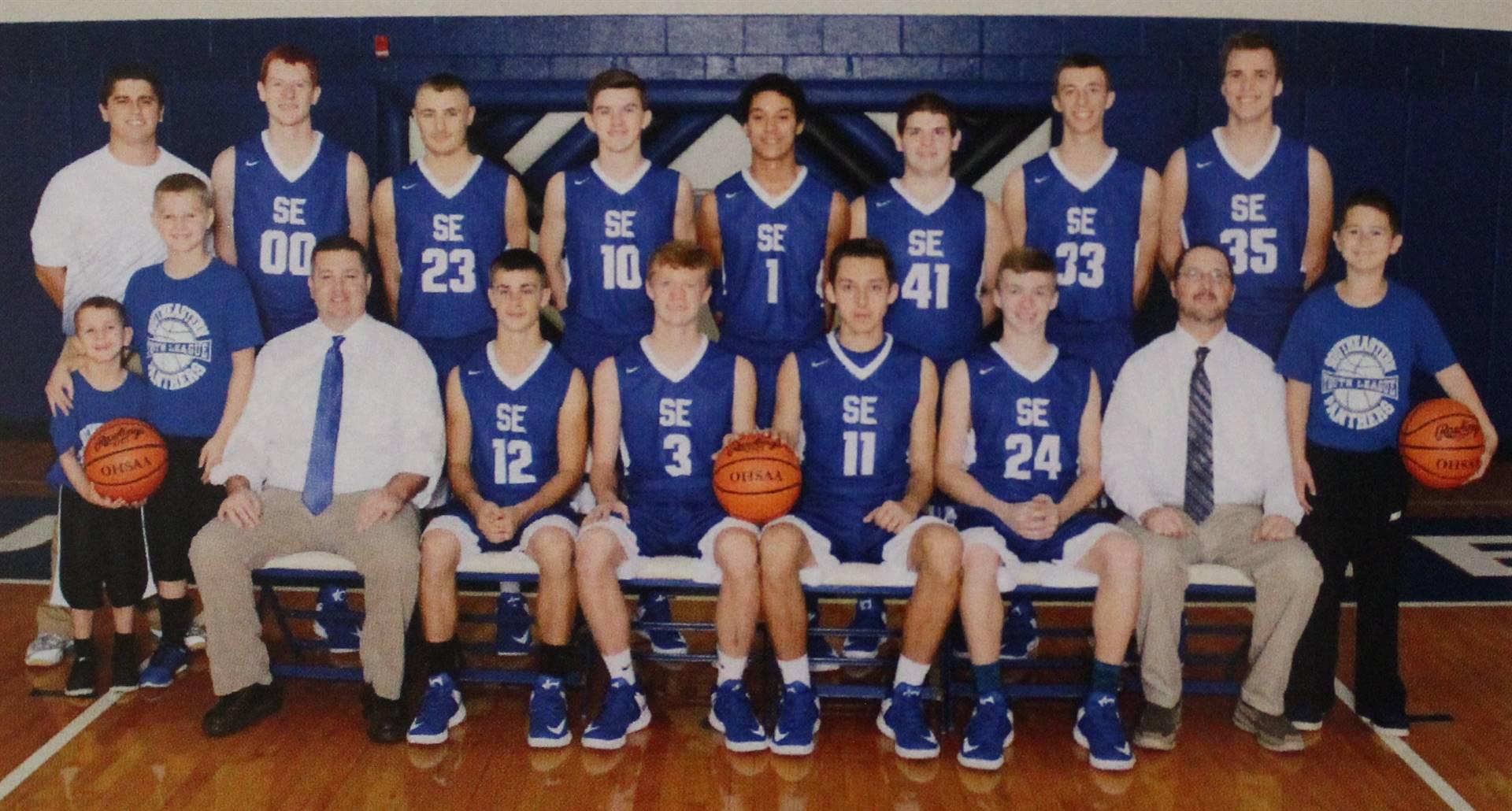 2017 Boys Varsity Basketball