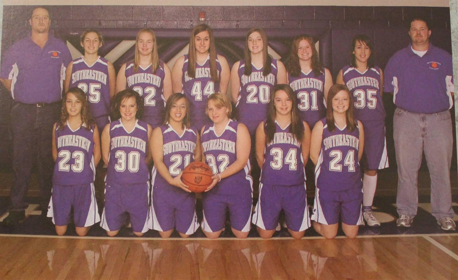 2008 girls bball