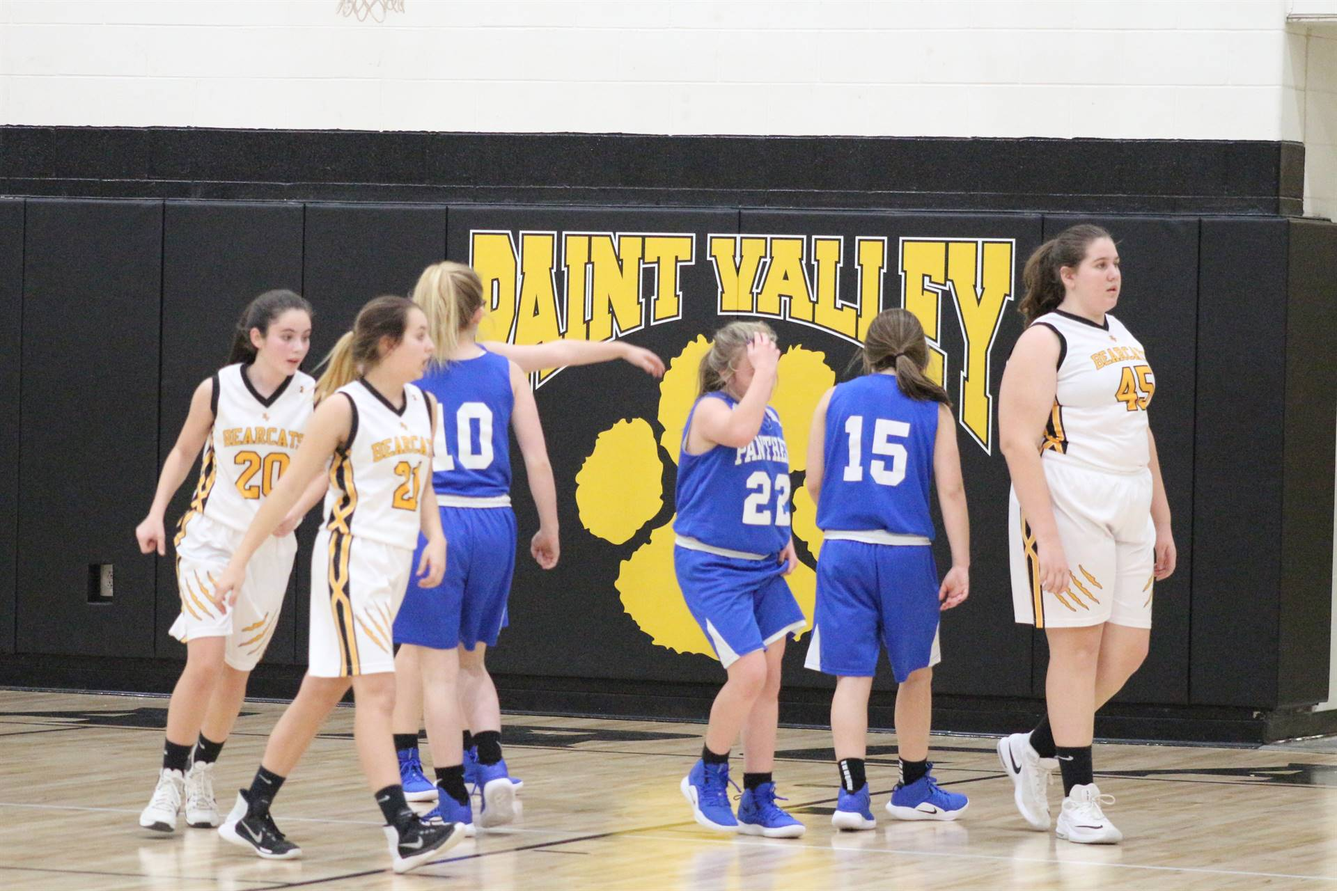 JH Girls vs Paint Valley 2