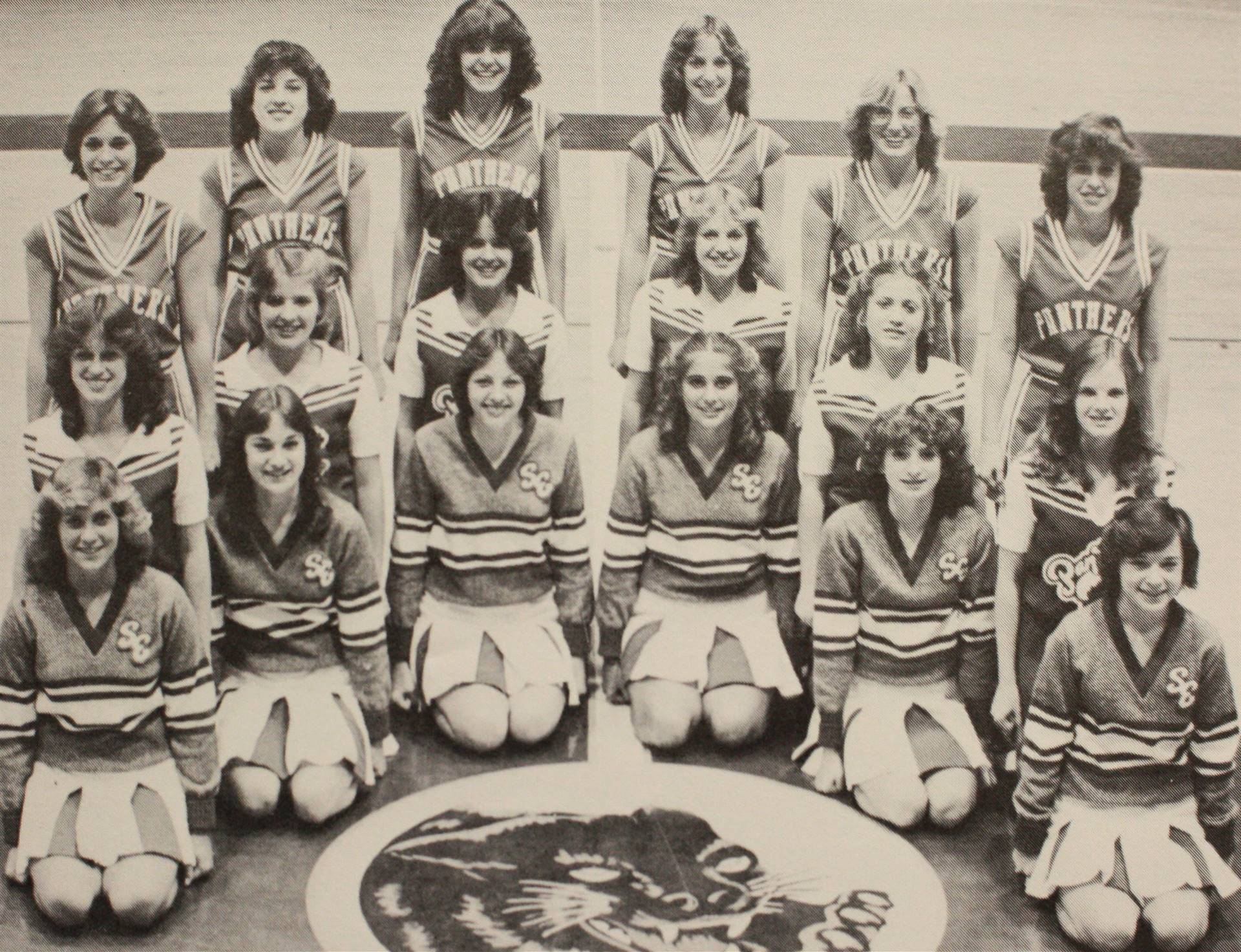 1981 Cheerleaders