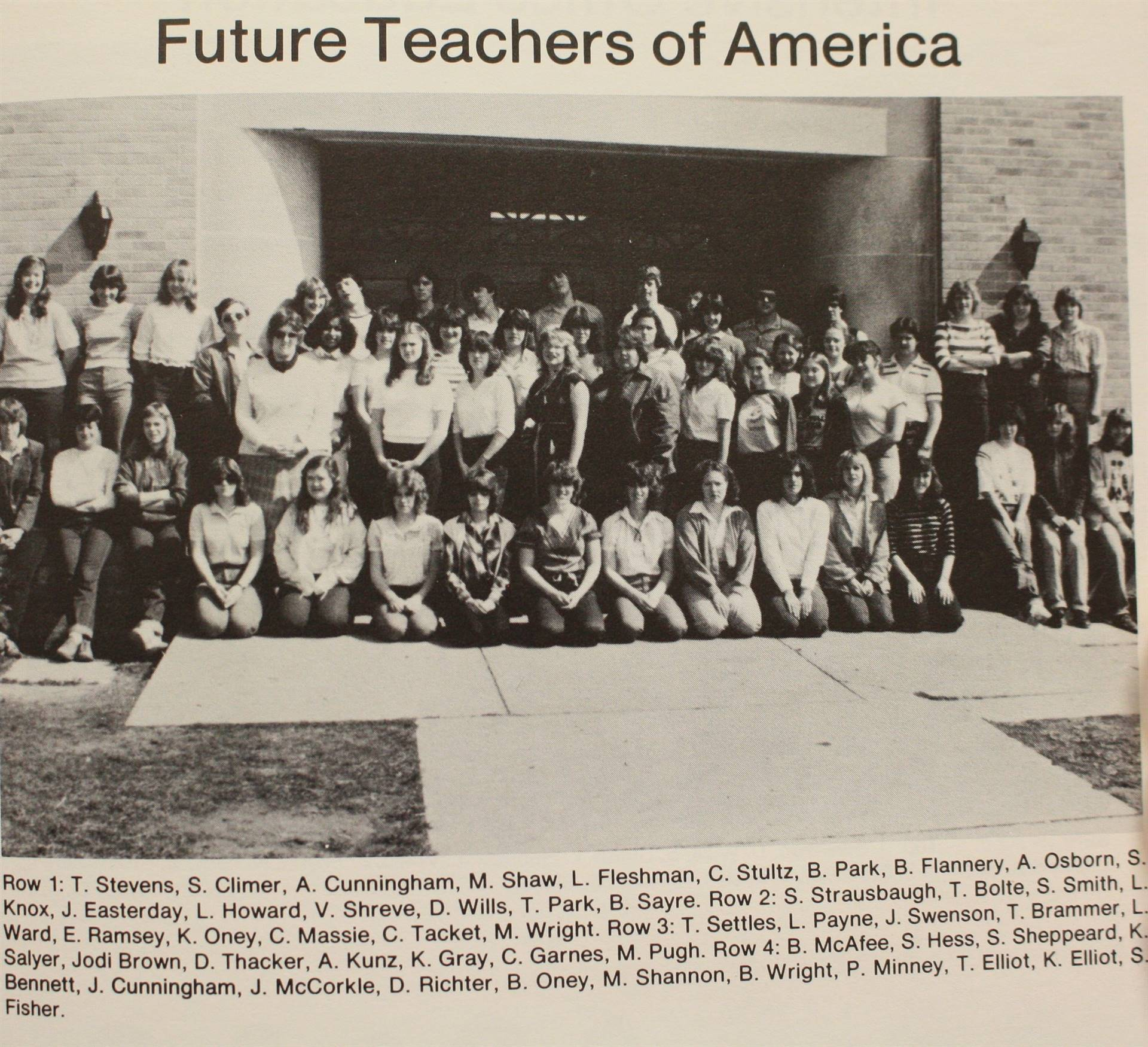 1982 Future Teachers of America