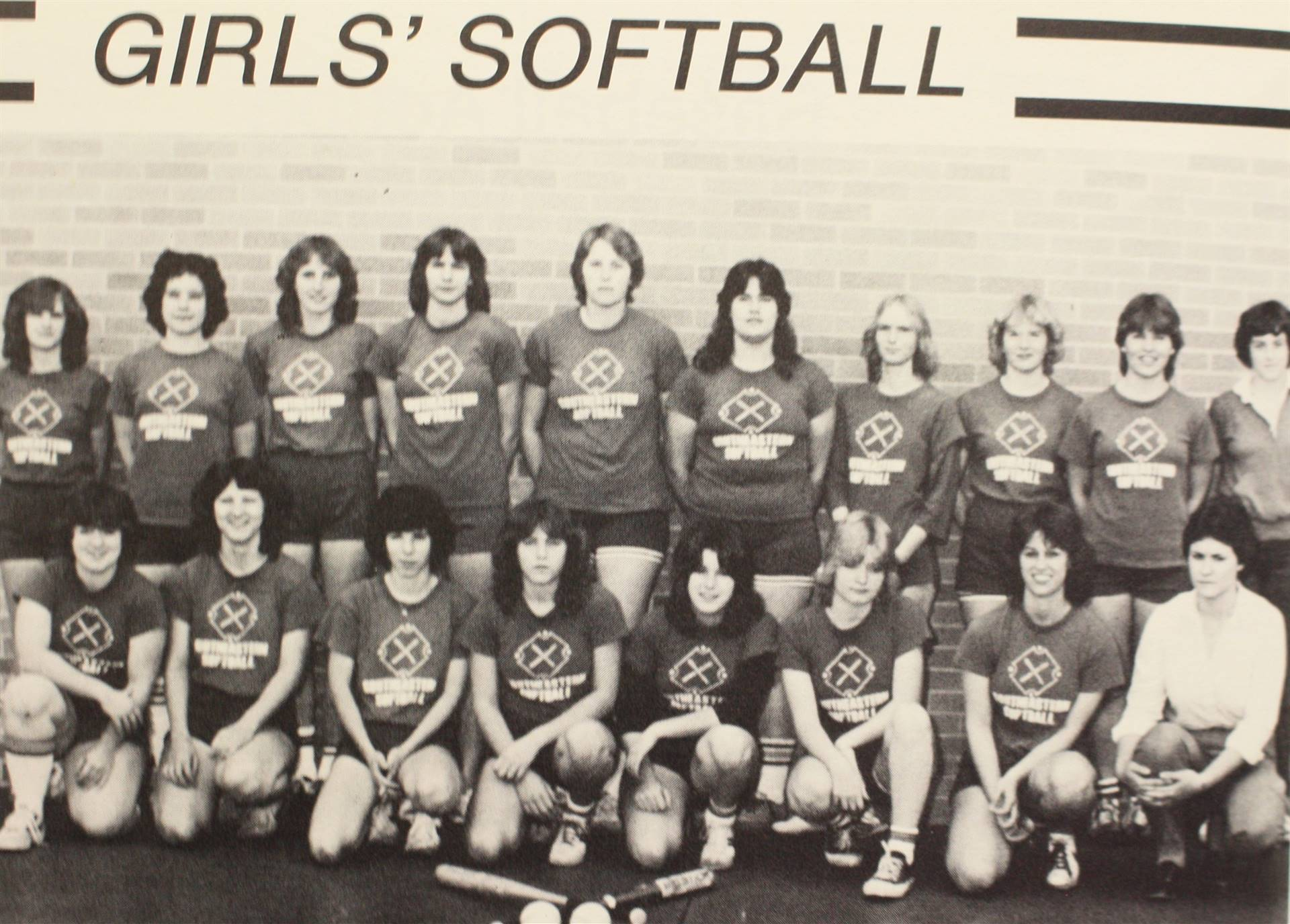 1982 Girls' Softball