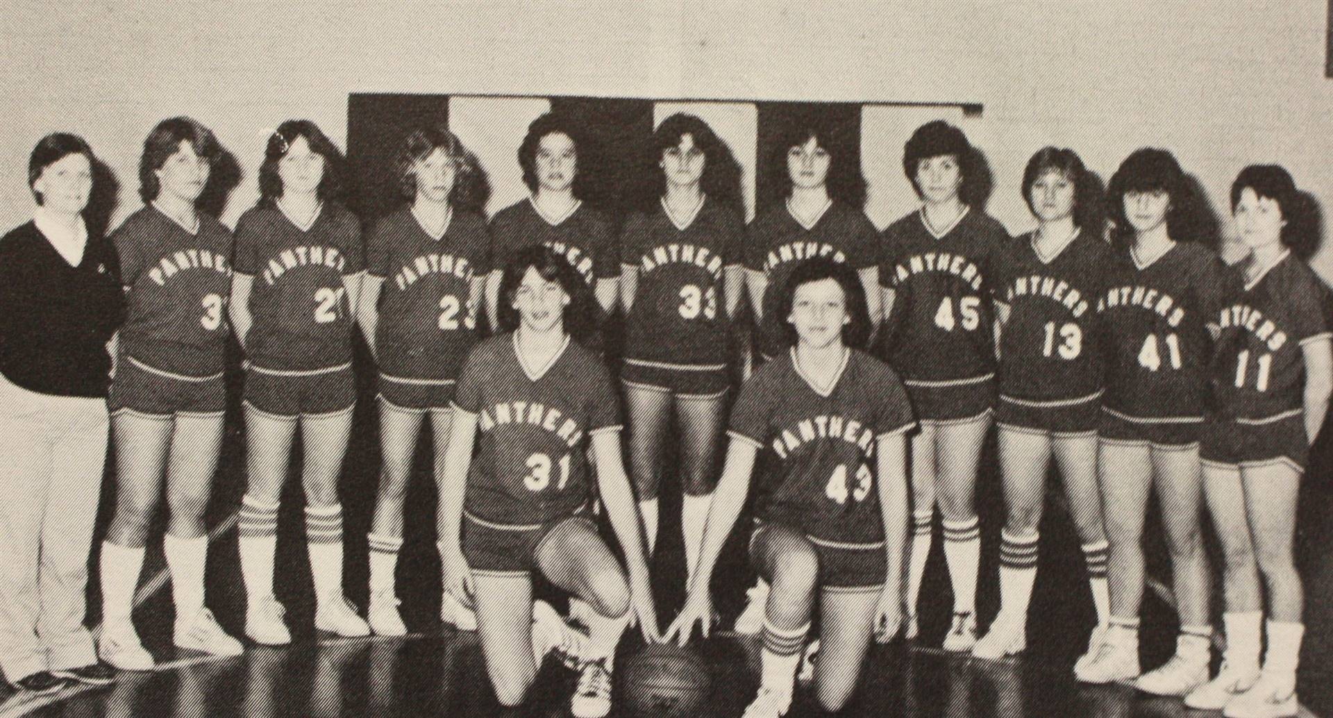 1982 Girls' Varsity Basketball
