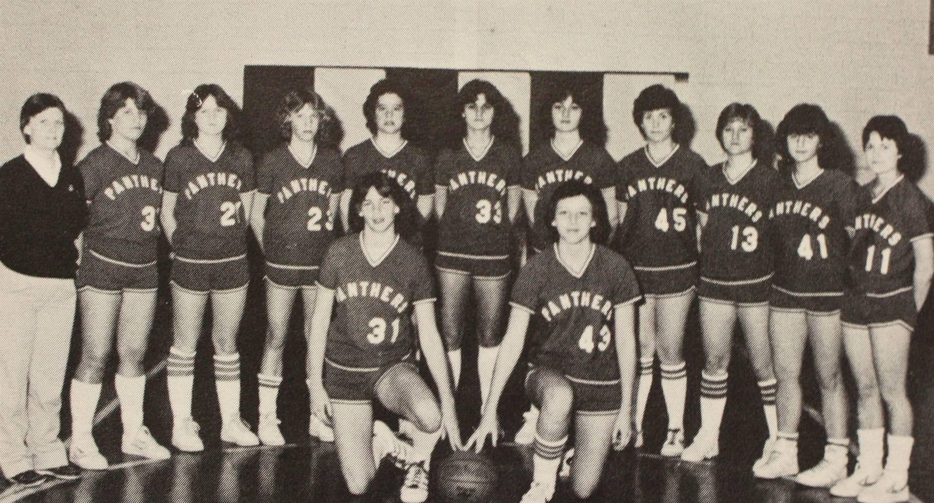 1982 Girls' Varsity Basketball
