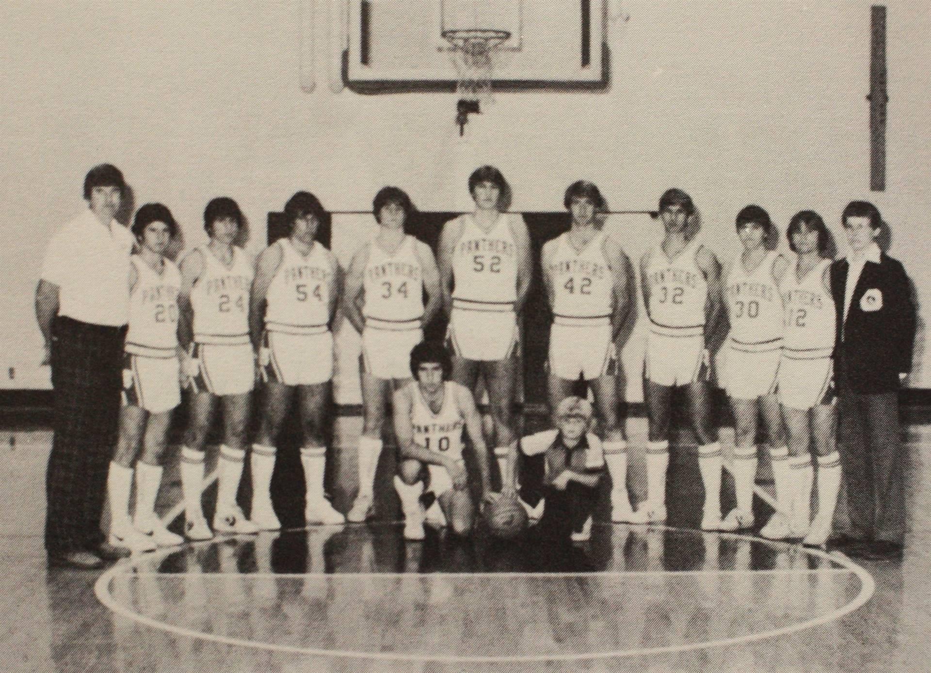 1982 Varsity Basketball