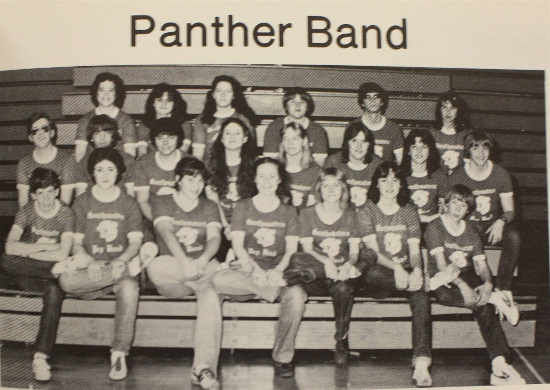 1982 Panther Band