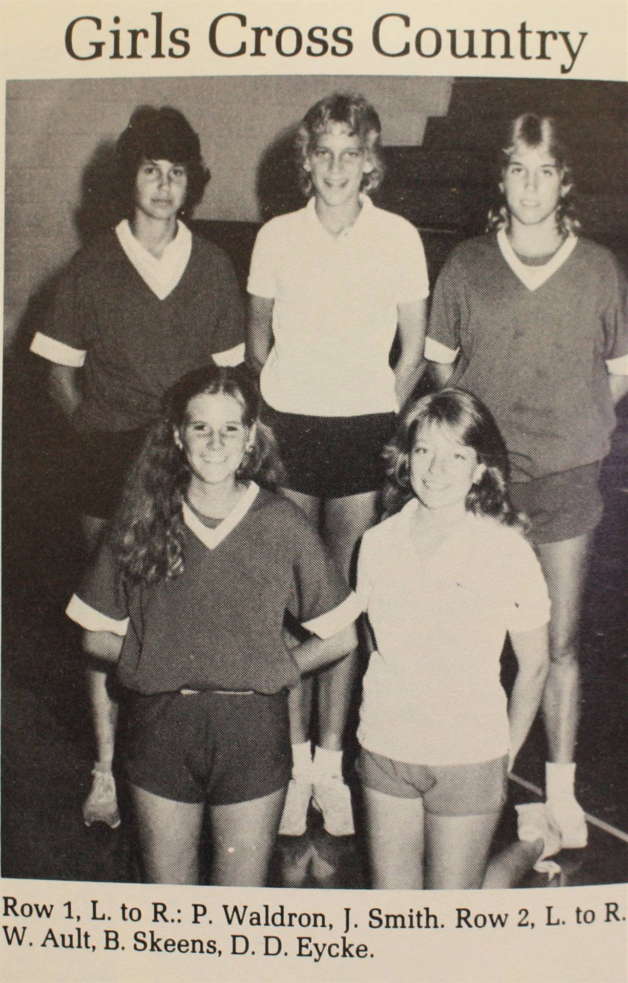 1984 Girls Cross Country