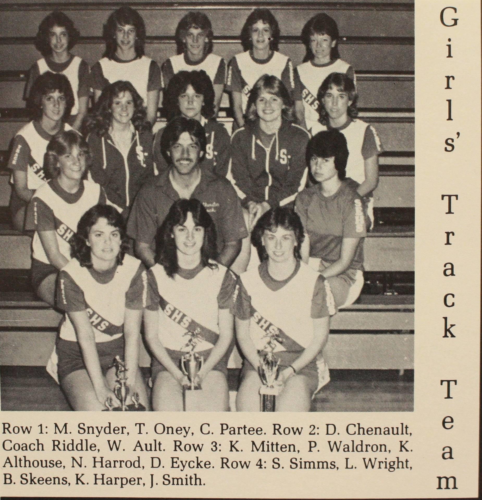 1984 Girls Track