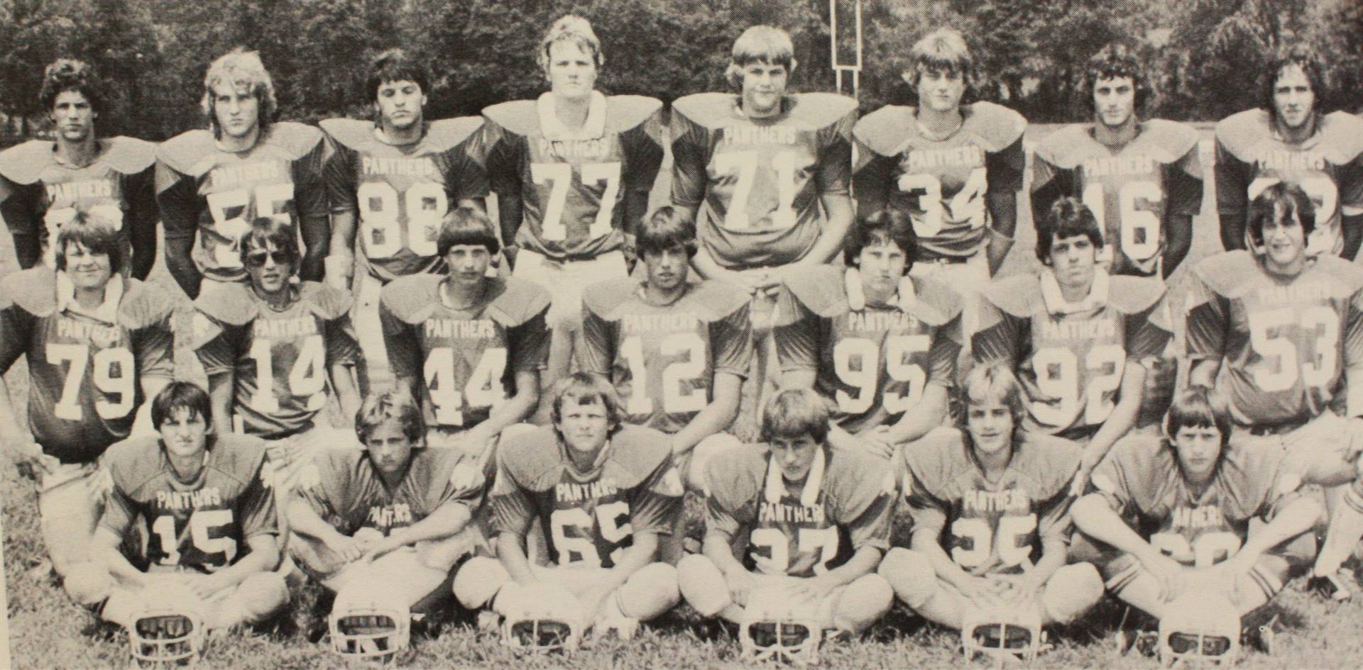 1981 Varsity Football