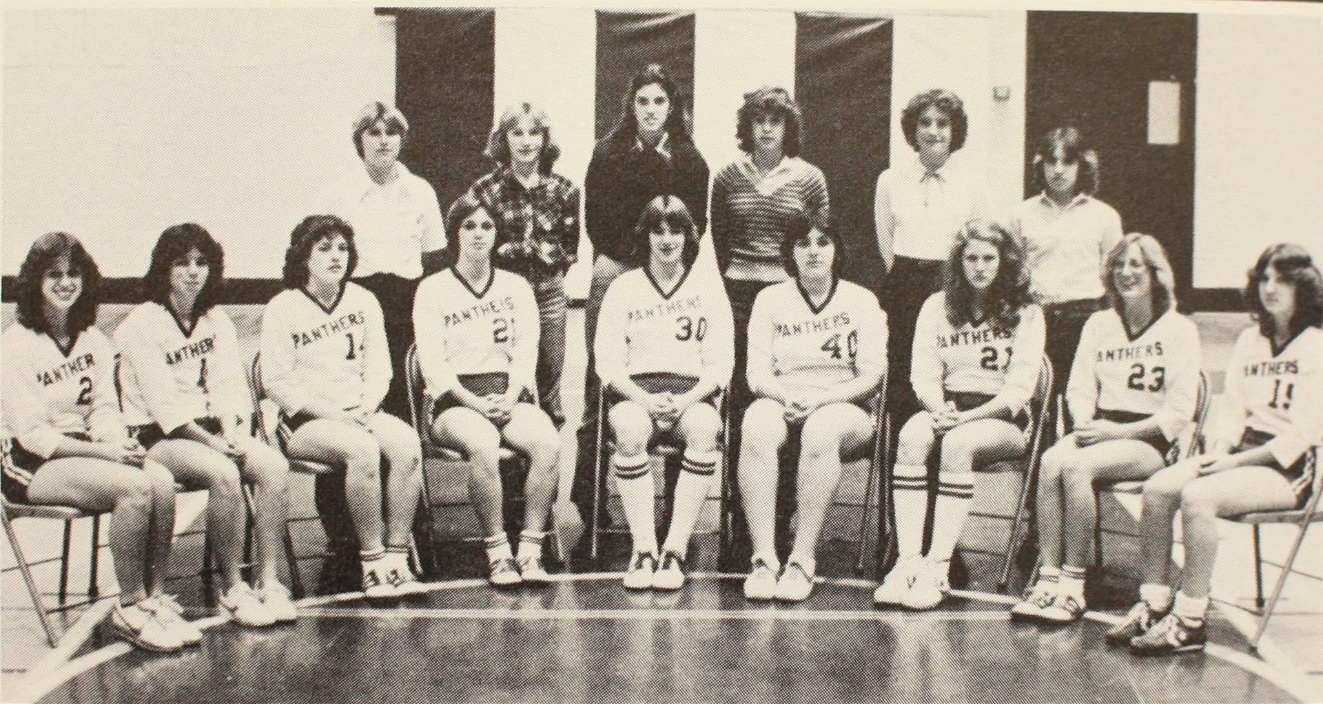 1981 Varsity Vollyball